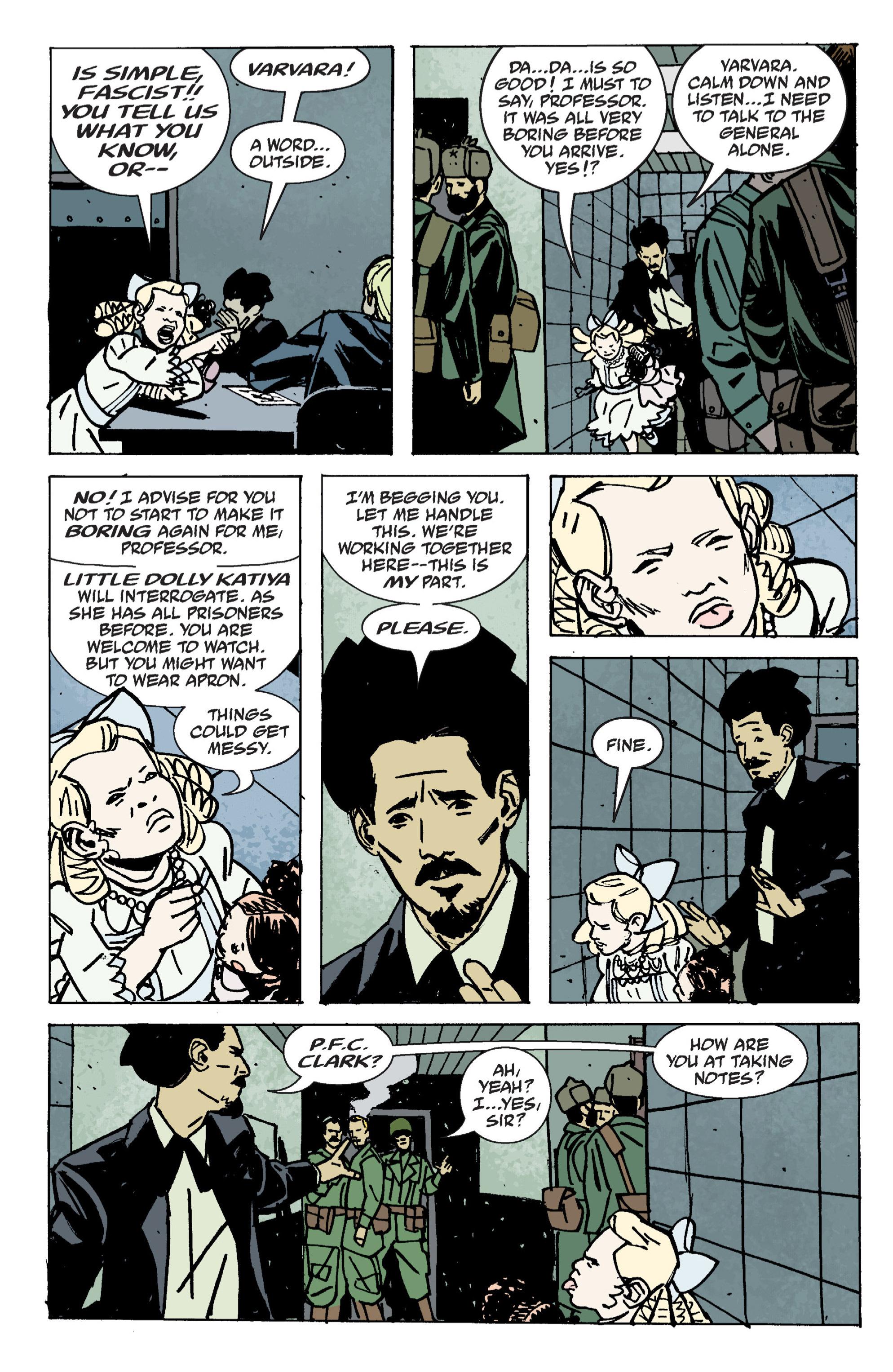Read online B.P.R.D. (2003) comic -  Issue # TPB 9 - 90