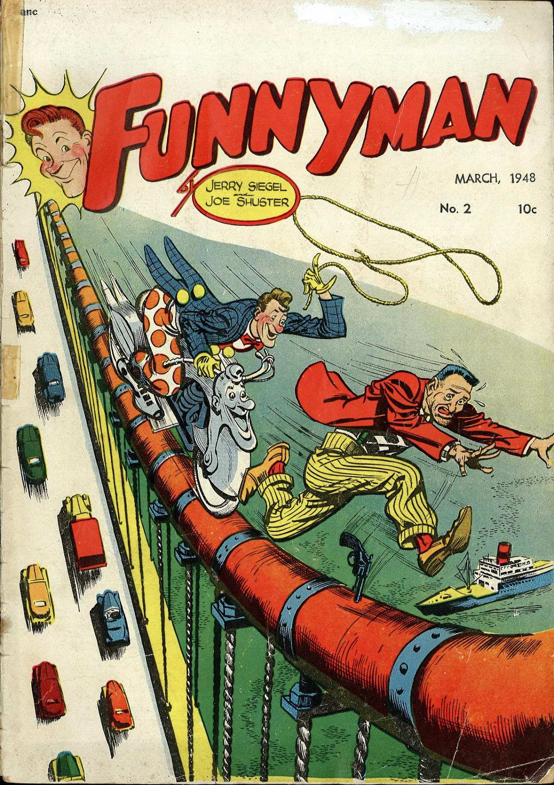 Funnyman 2 Page 1