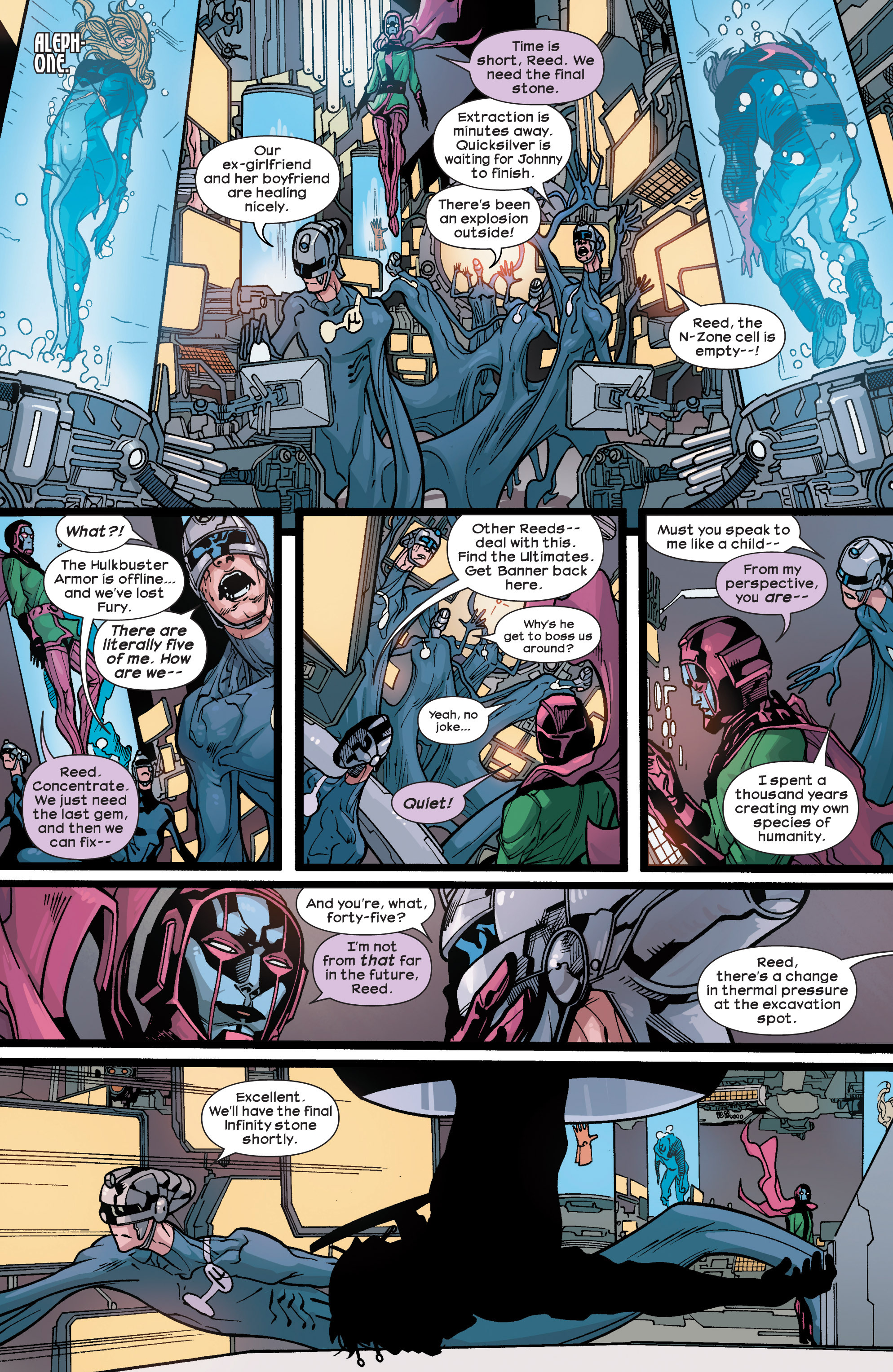 Read online Ultimate Comics Ultimates comic -  Issue #29 - 10