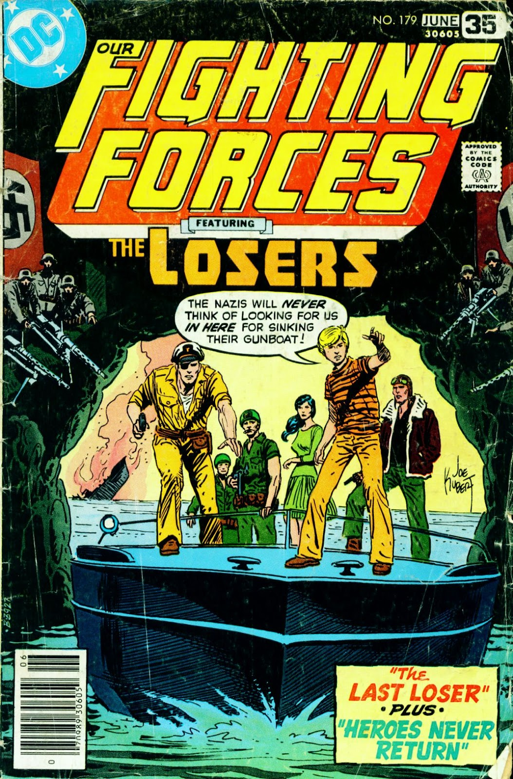 Our Fighting Forces (1954) issue 179 - Page 1