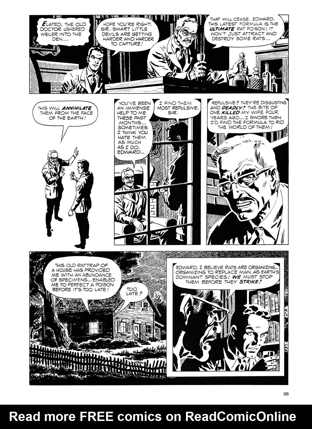 Read online Eerie Archives comic -  Issue # TPB 1 - 166