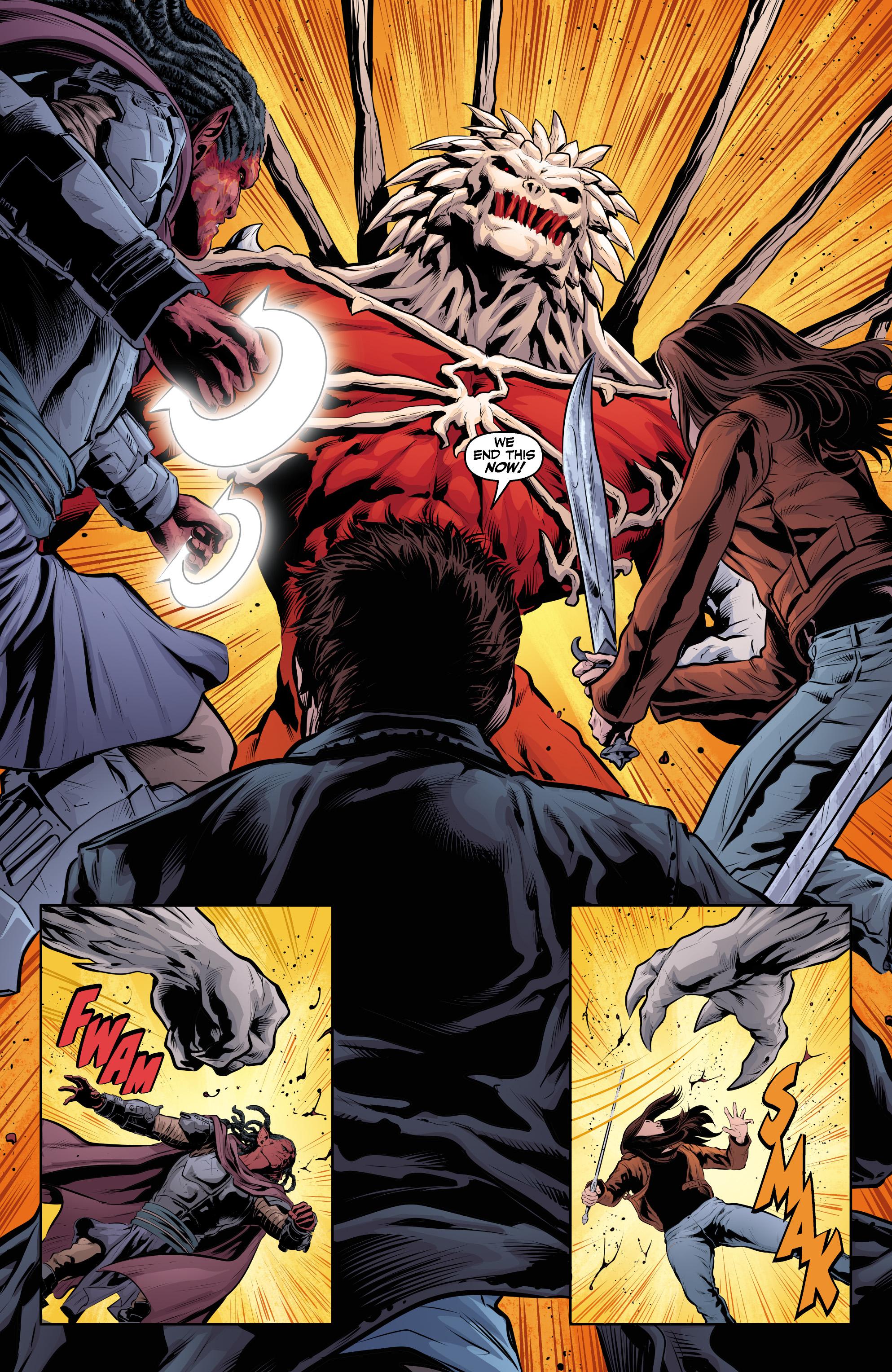 Read online Angel & Faith Season 10 comic -  Issue #24 - 17