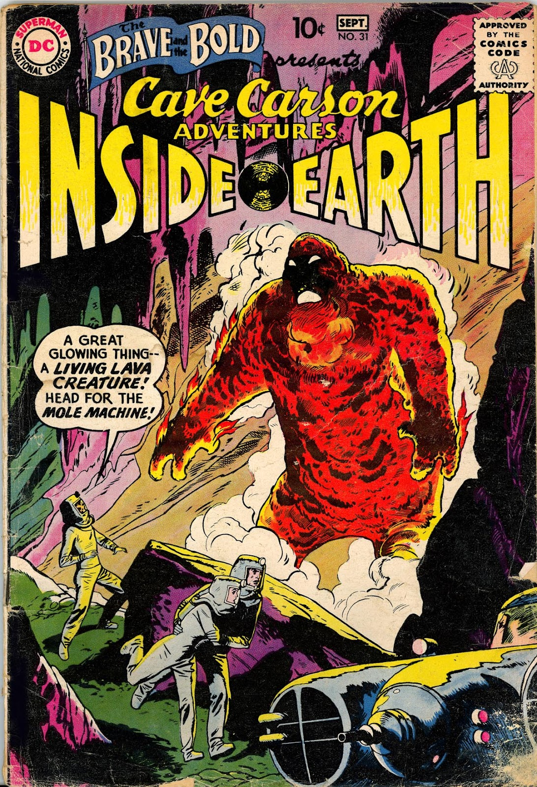 The Brave and the Bold (1955) issue 31 - Page 1