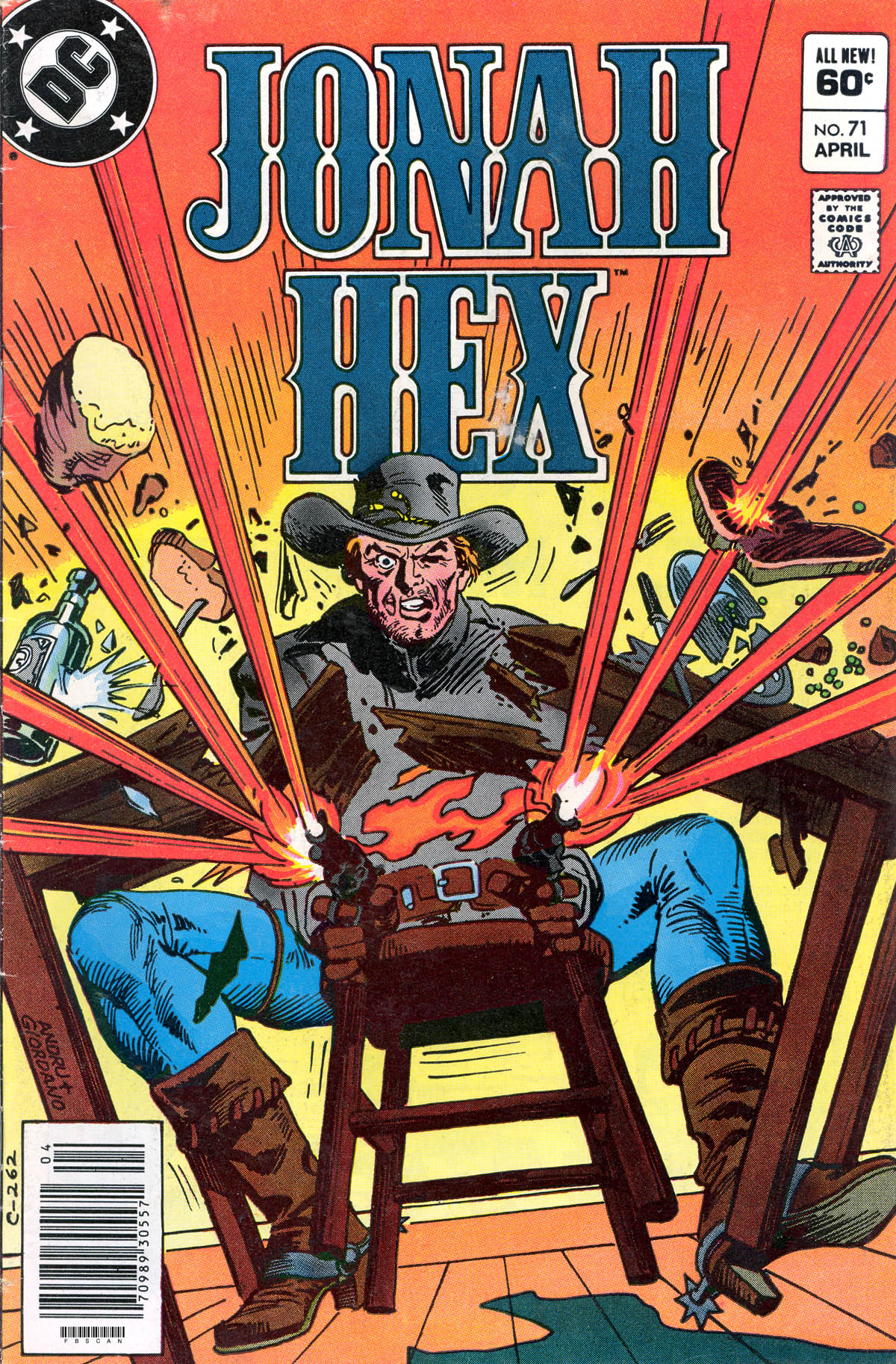 Jonah Hex (1977) 71 Page 1