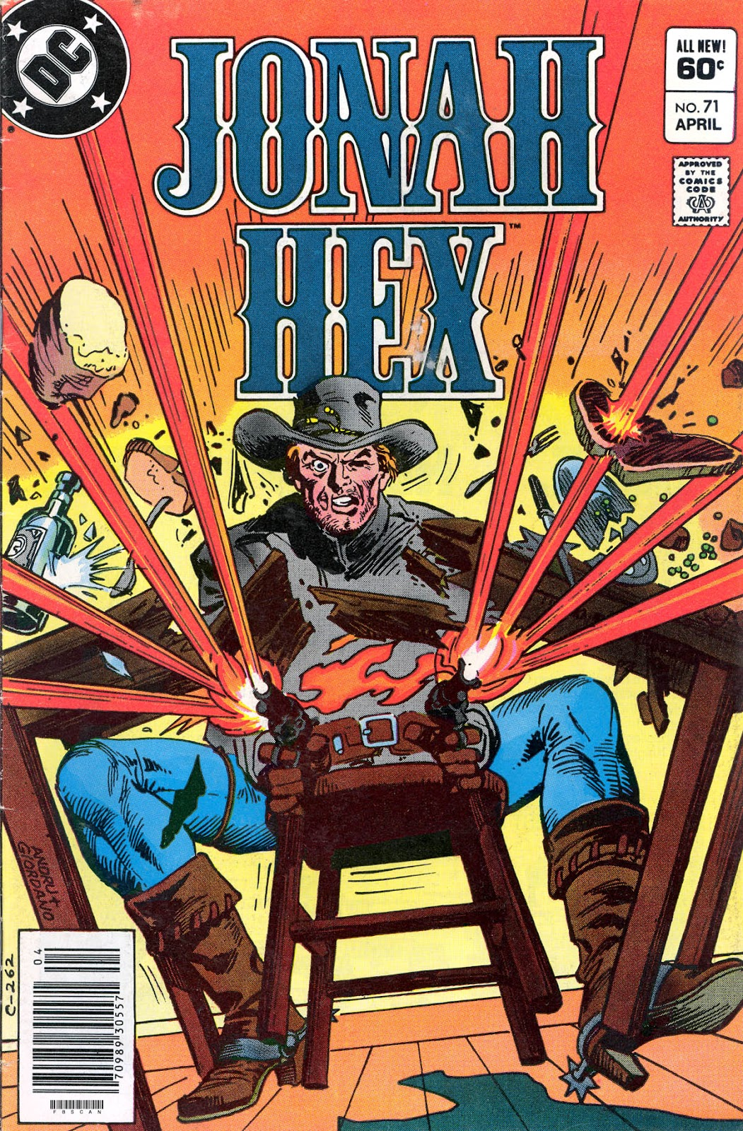 Jonah Hex (1977) issue 71 - Page 1