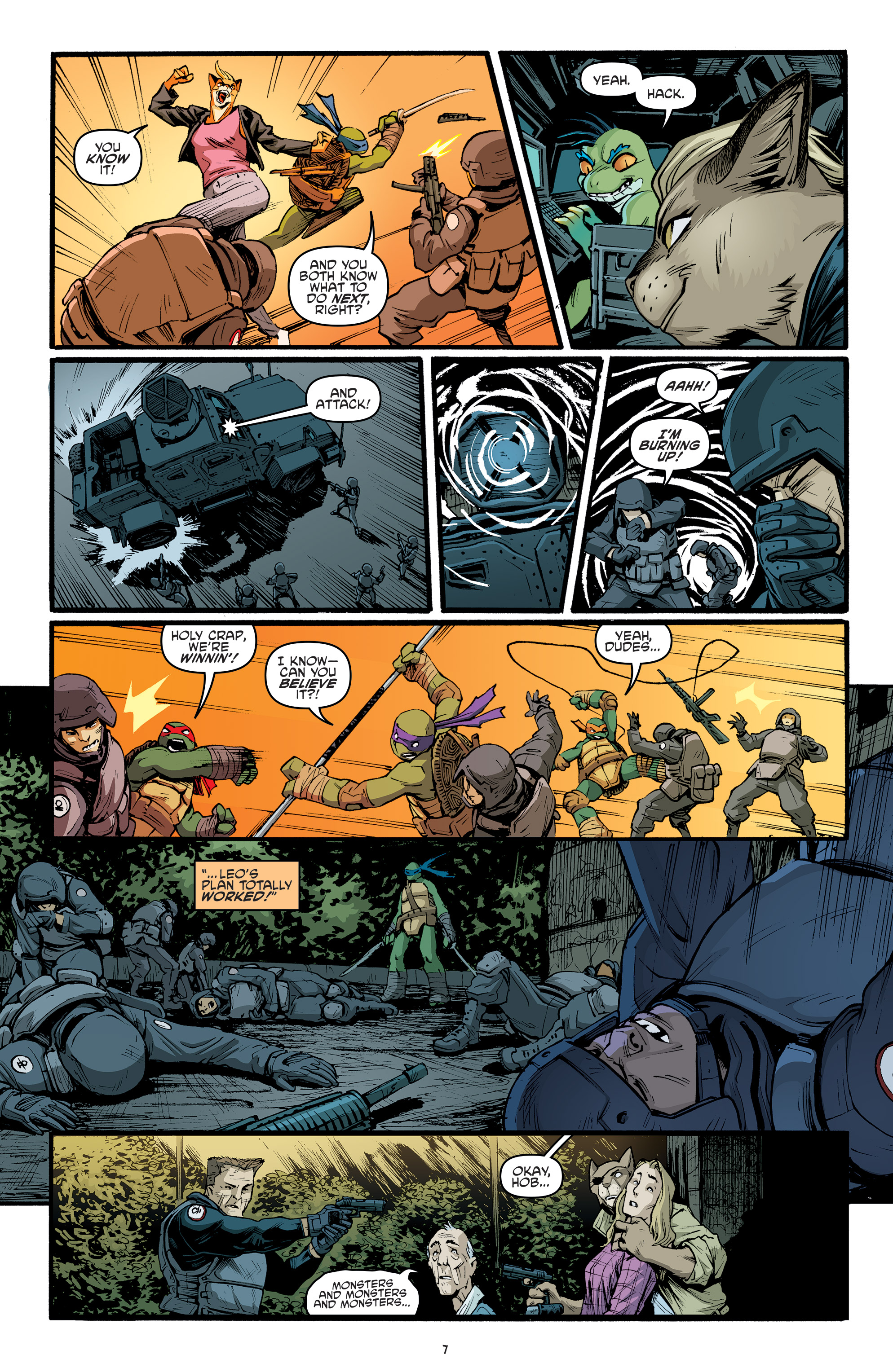 Read online Teenage Mutant Ninja Turtles (2011) comic -  Issue #70 - 9