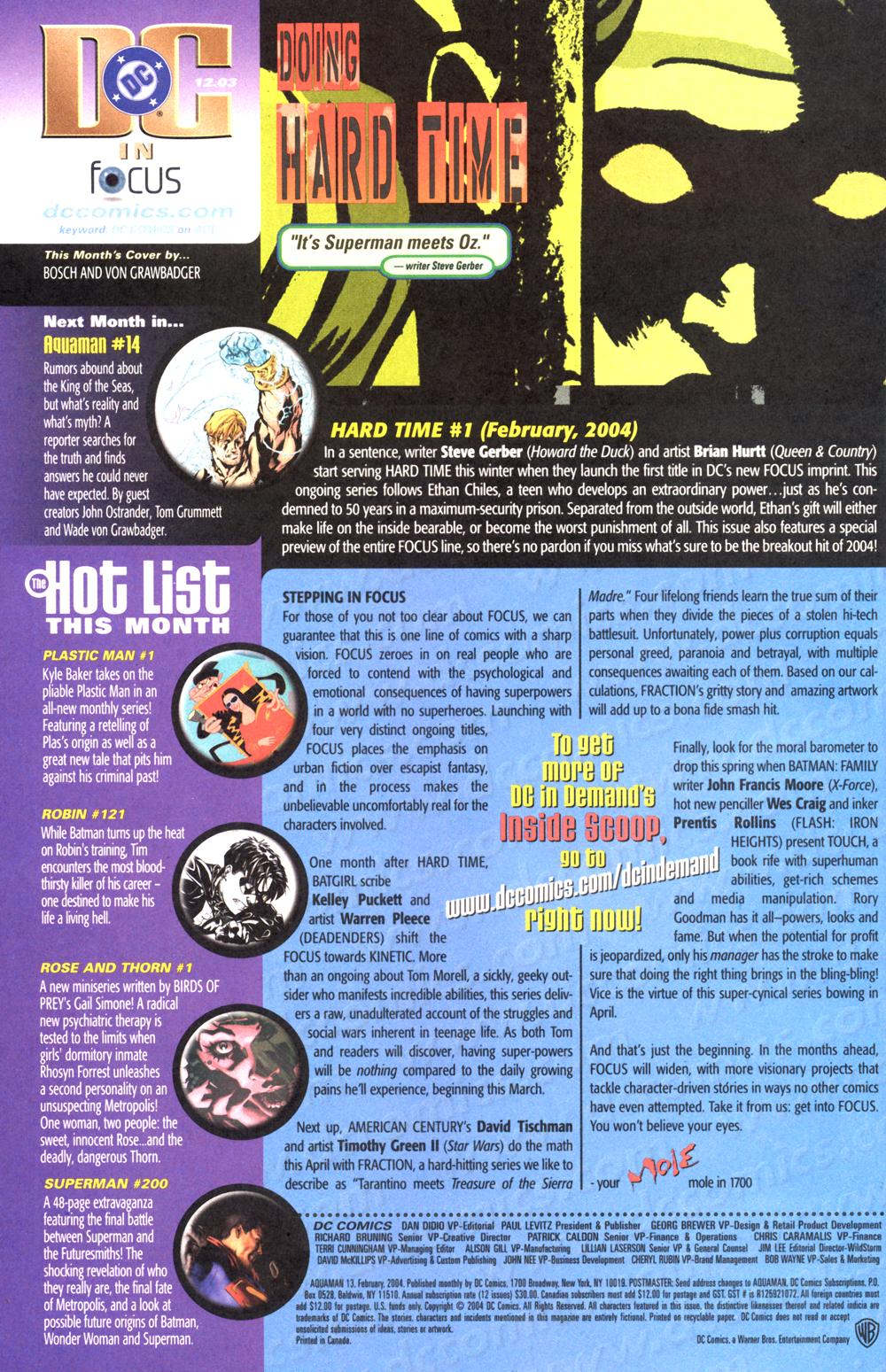 Read online Aquaman (2003) comic -  Issue #13 - 24
