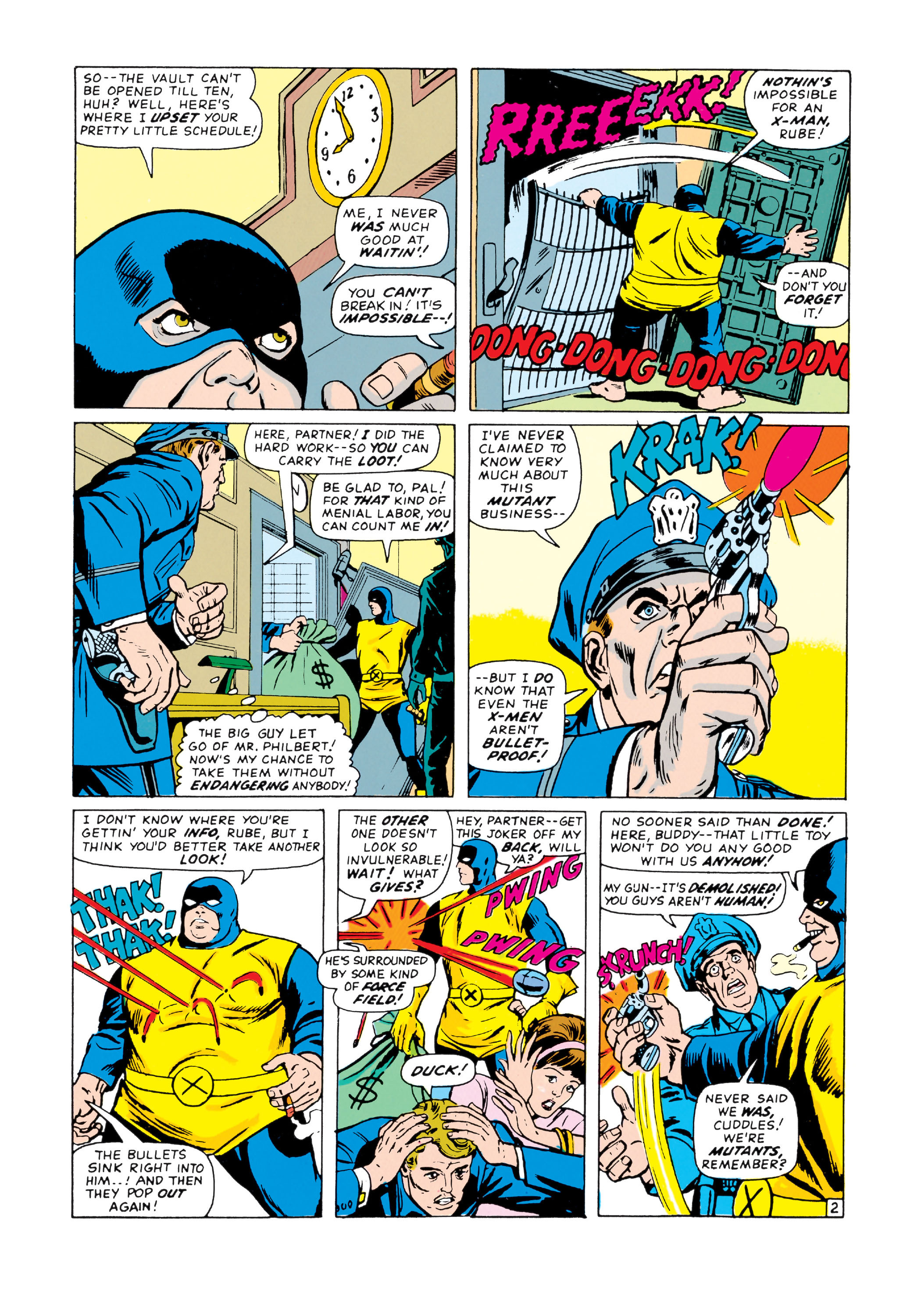 Read online Uncanny X-Men (1963) comic -  Issue #20 - 3