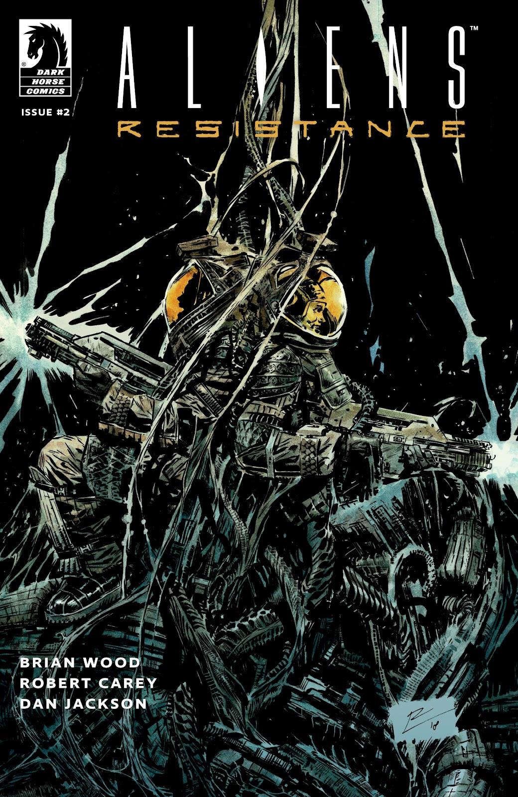 Read online Aliens: Resistance comic -  Issue #2 - 1