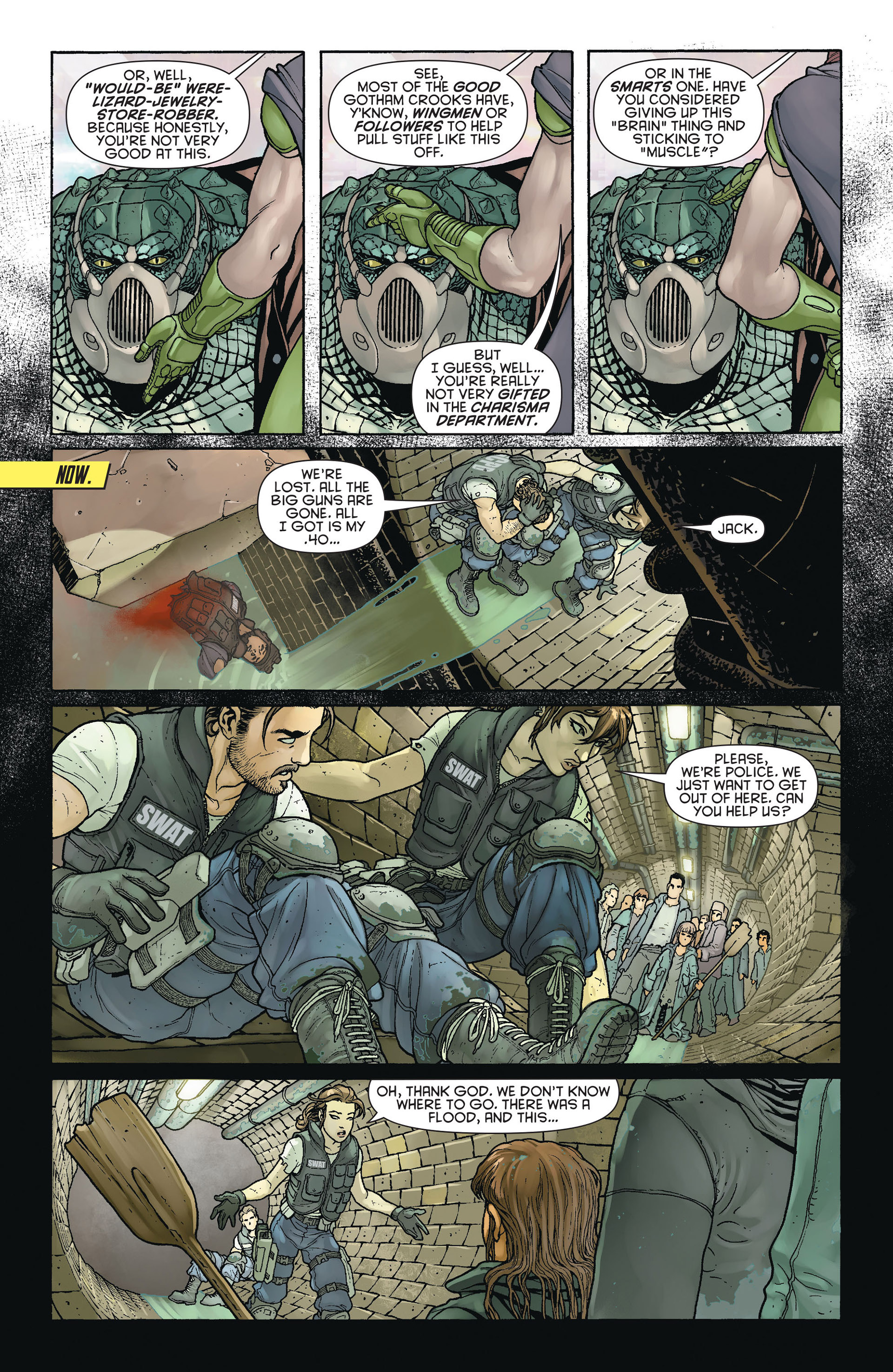 Read online Batman and Robin (2011) comic -  Issue #23.4 - 9
