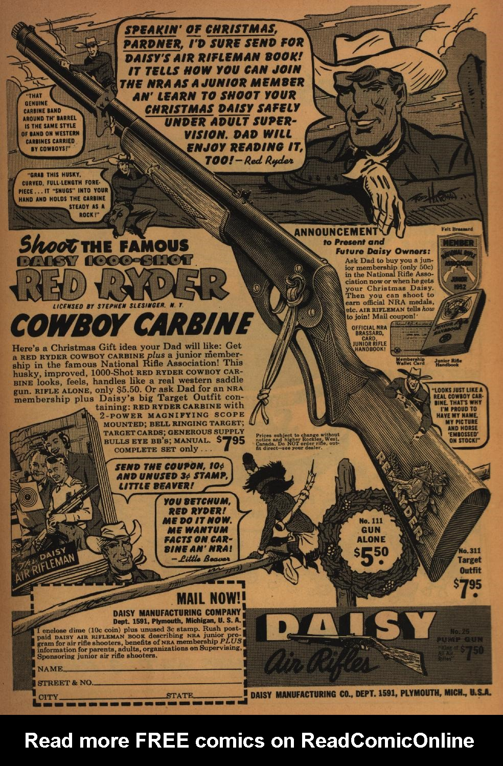 Read online All-Star Western (1951) comic -  Issue #62 - 35