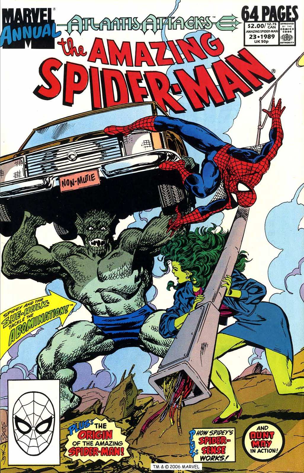 The Amazing Spider-Man (1963) _Annual_23 Page 1
