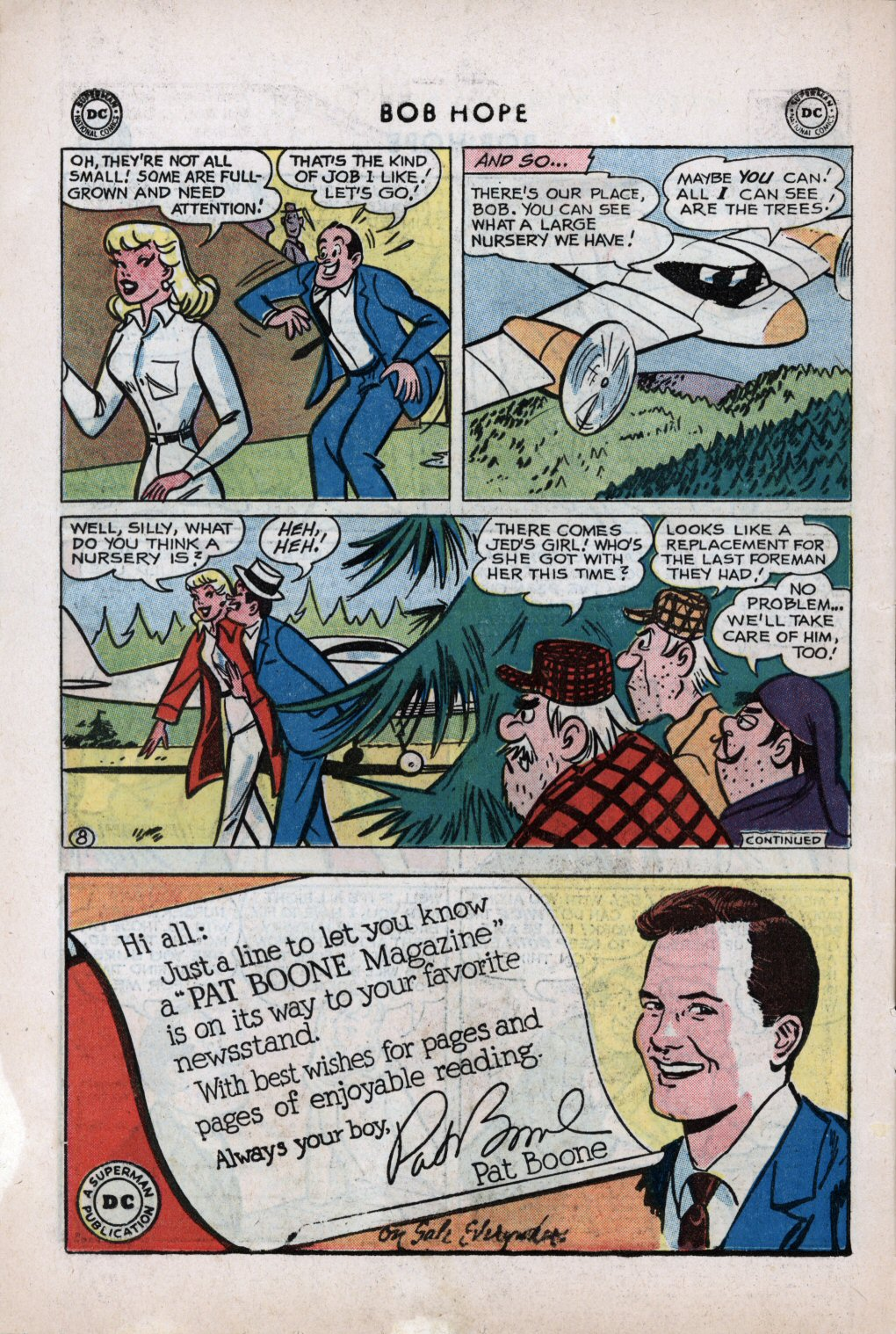 The Adventures of Bob Hope issue 59 - Page 10