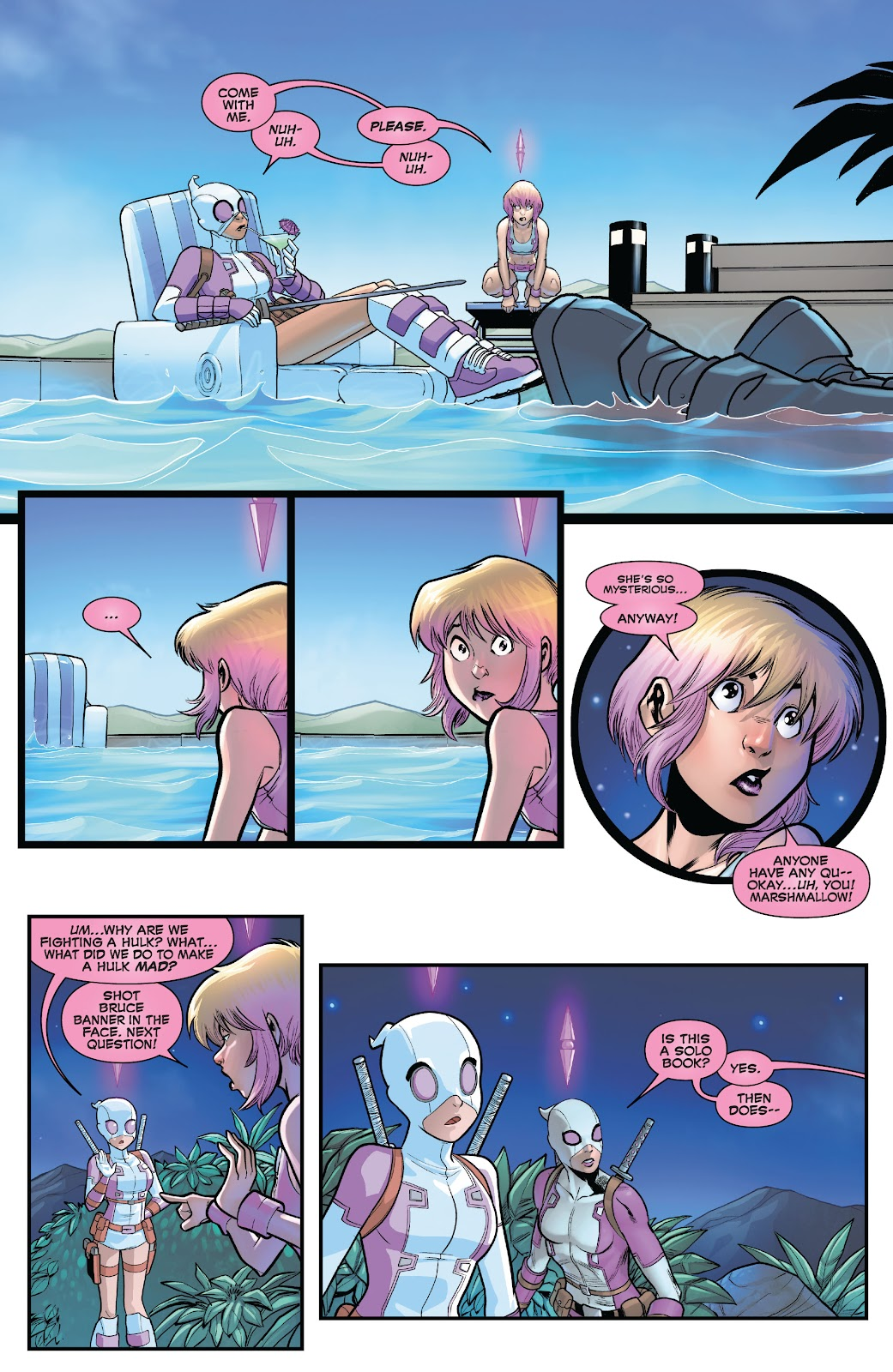 Gwenpool Strikes Back issue _TPB - Page 78