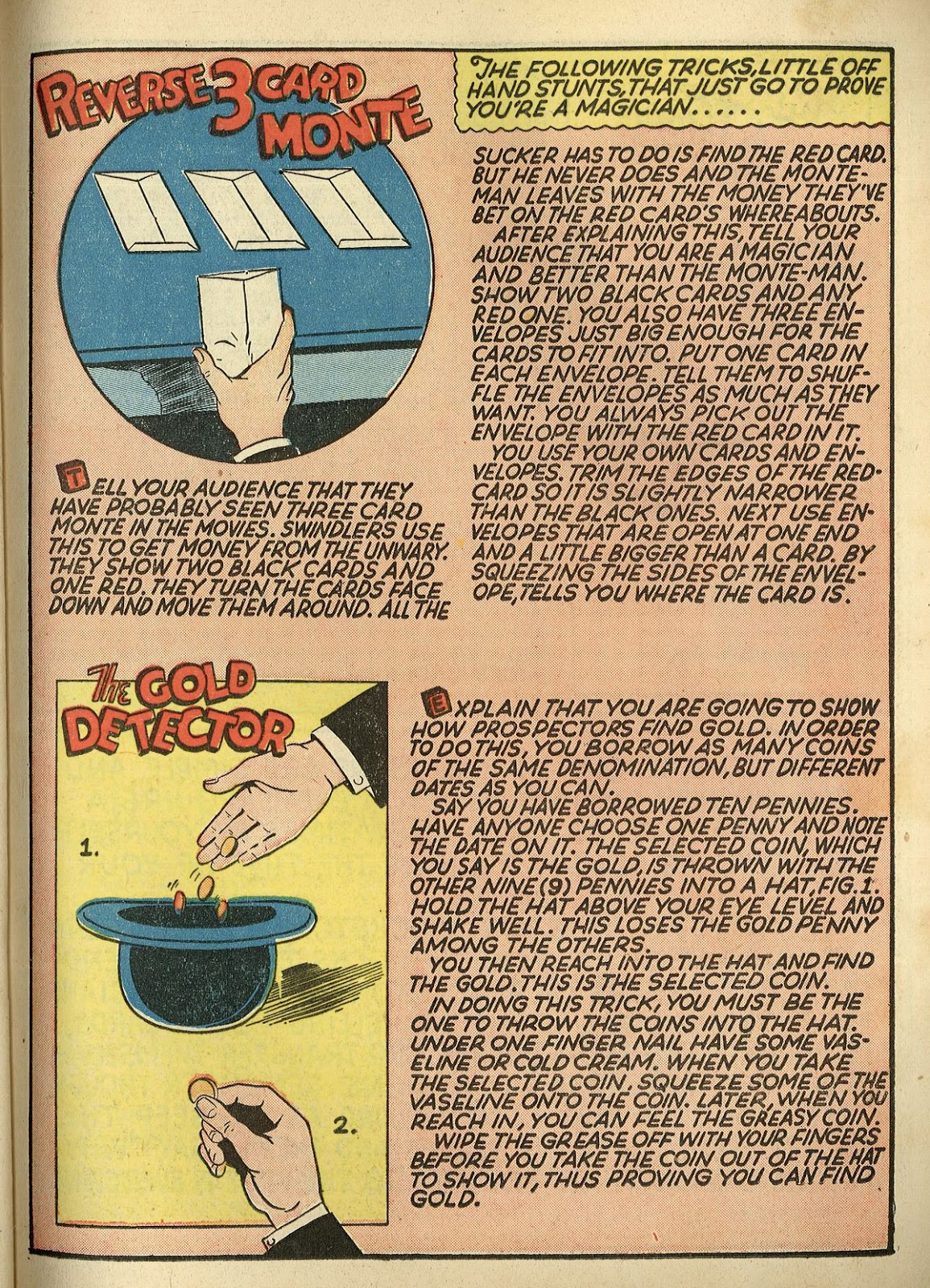 Read online Super-Magician Comics comic -  Issue #1 - 45