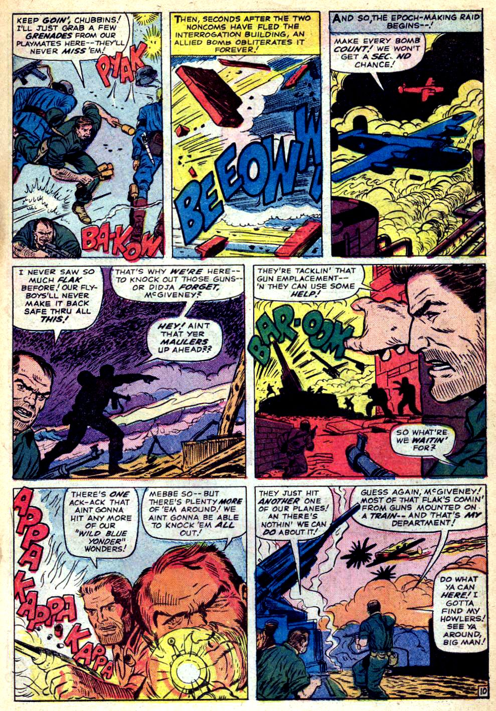 Read online Sgt. Fury comic -  Issue #22 - 15