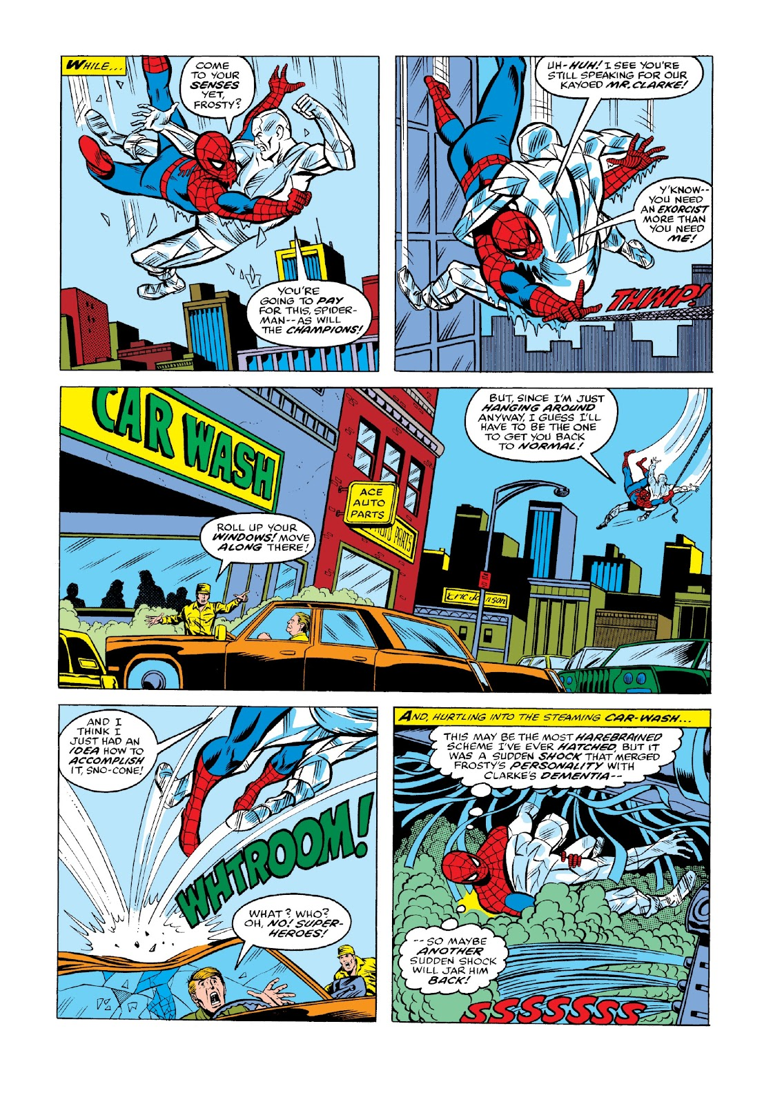 Read online Marvel Masterworks: The Spectacular Spider-Man comic -  Issue # TPB 2 (Part 1) - 56
