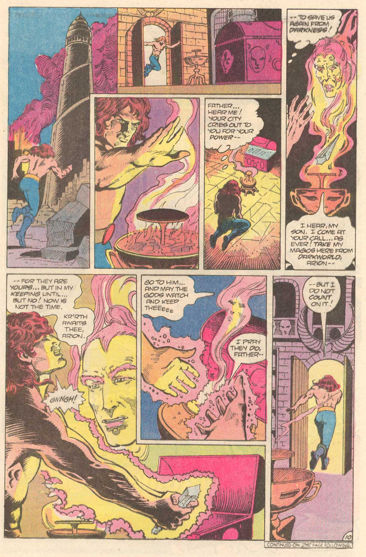 Read online Arion, Lord of Atlantis comic -  Issue #27 - 11