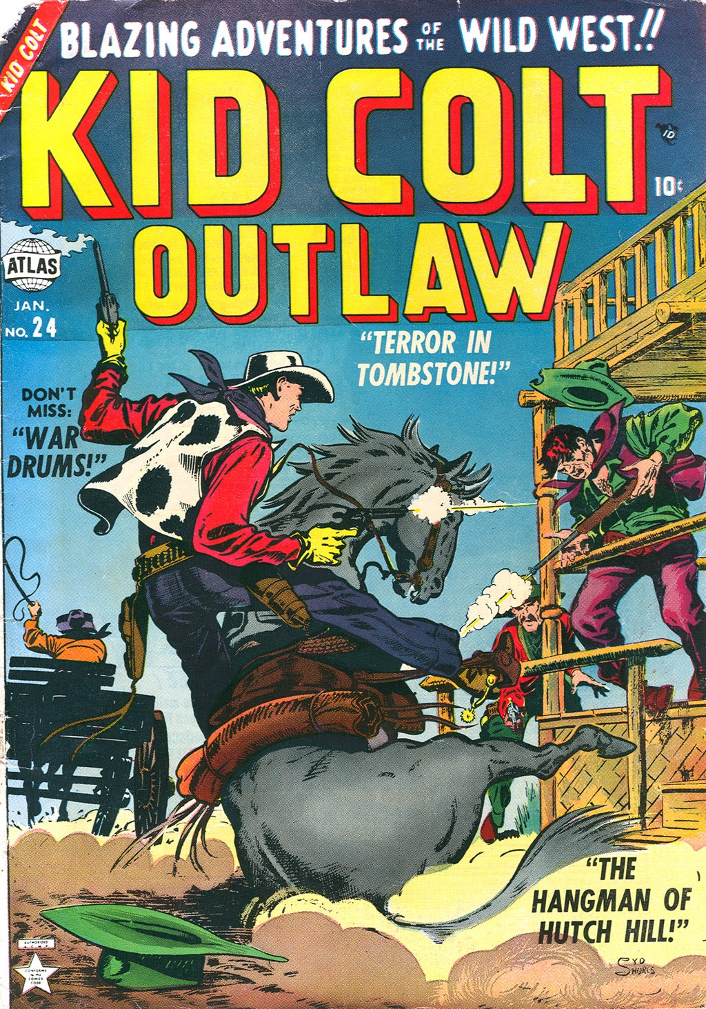 Kid Colt Outlaw issue 24 - Page 1