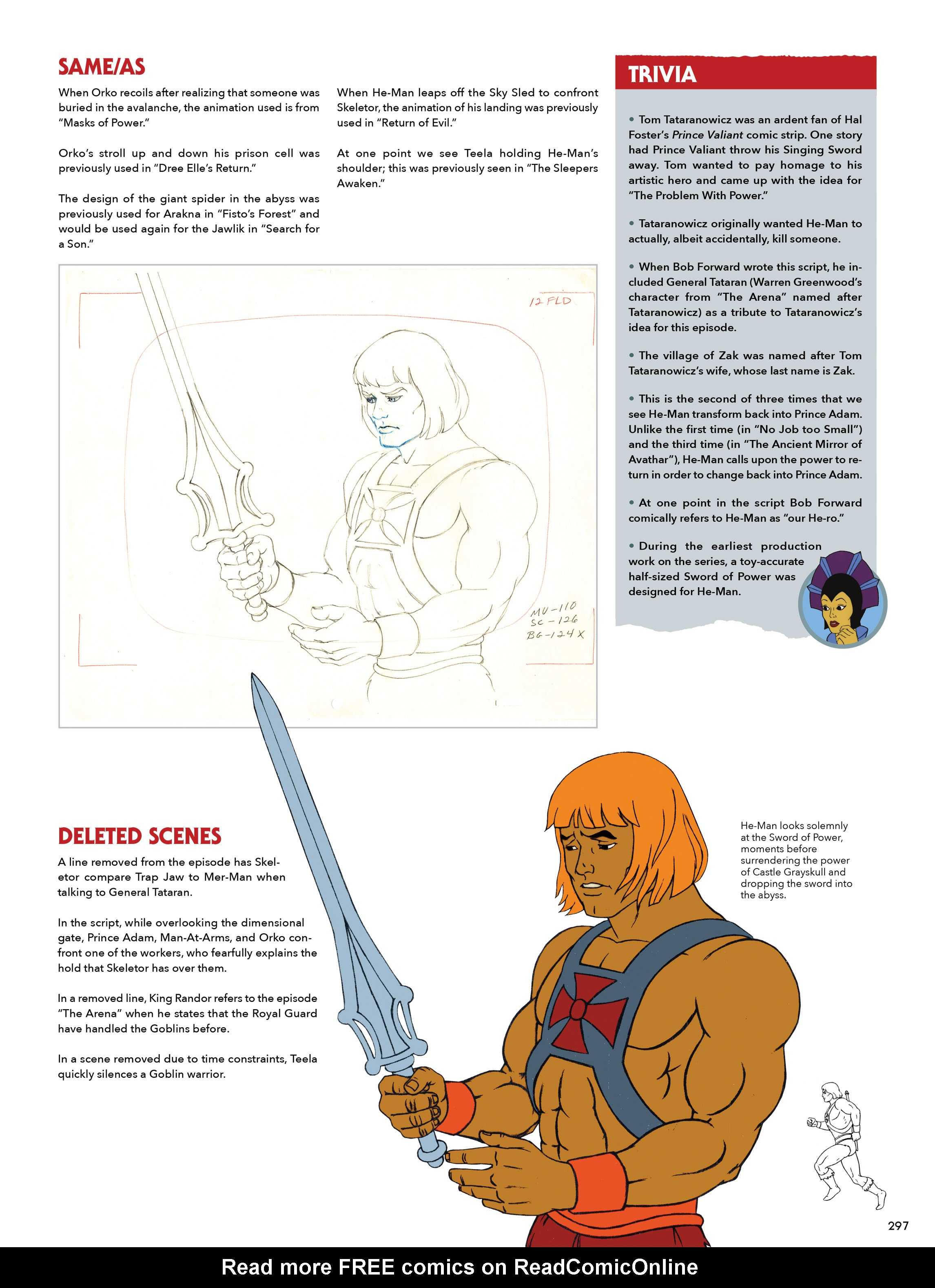 Read online He-Man and She-Ra: A Complete Guide to the Classic Animated Adventures comic -  Issue # TPB (Part 2) - 98