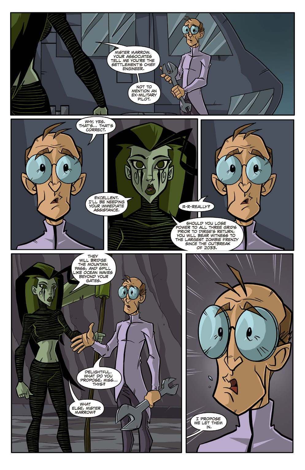 Read online Xombie Reanimated comic -  Issue #3 - 19