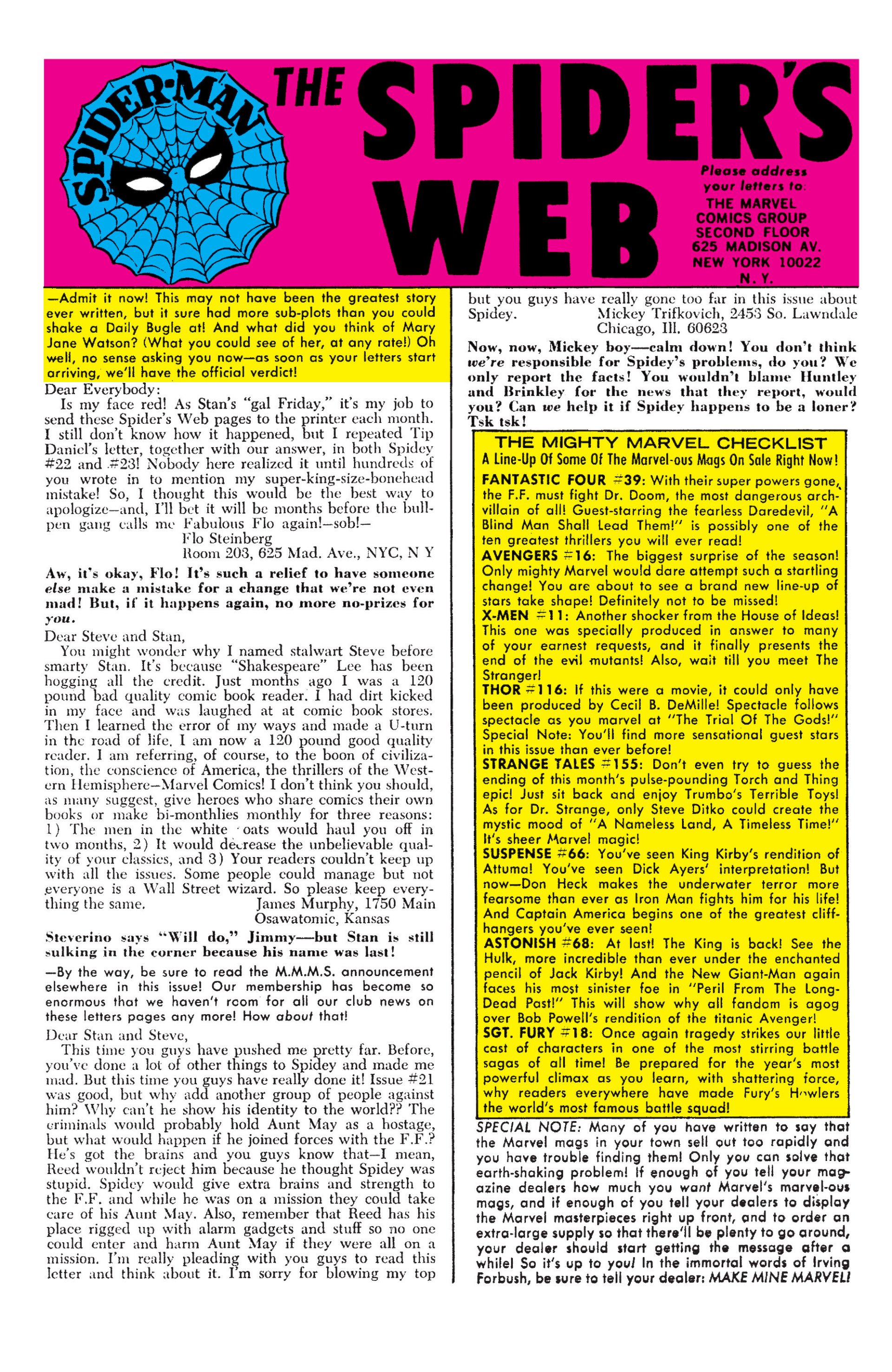 The Amazing Spider-Man (1963) 25 Page 21
