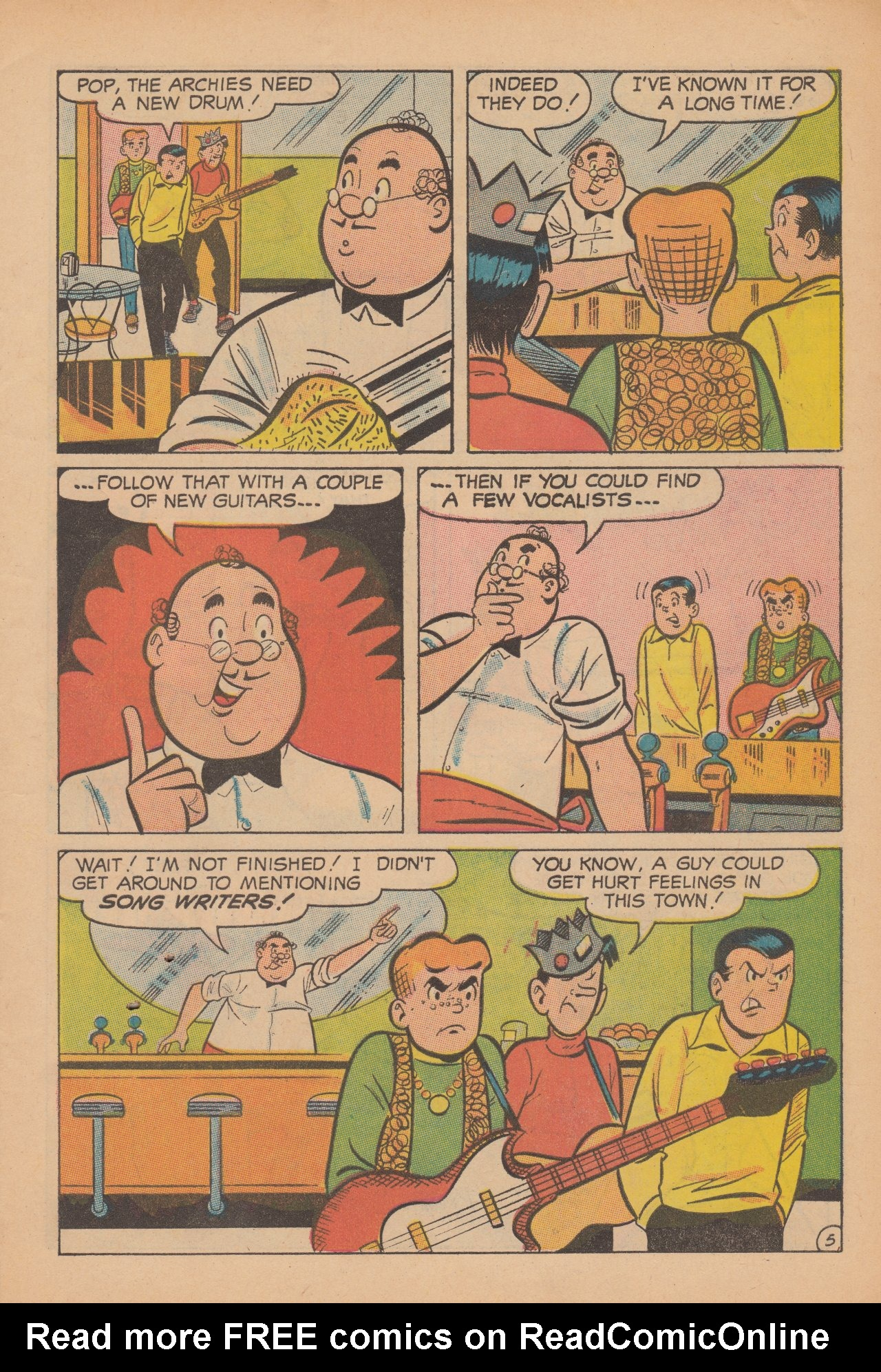 Read online Archie (1960) comic -  Issue #188 - 7