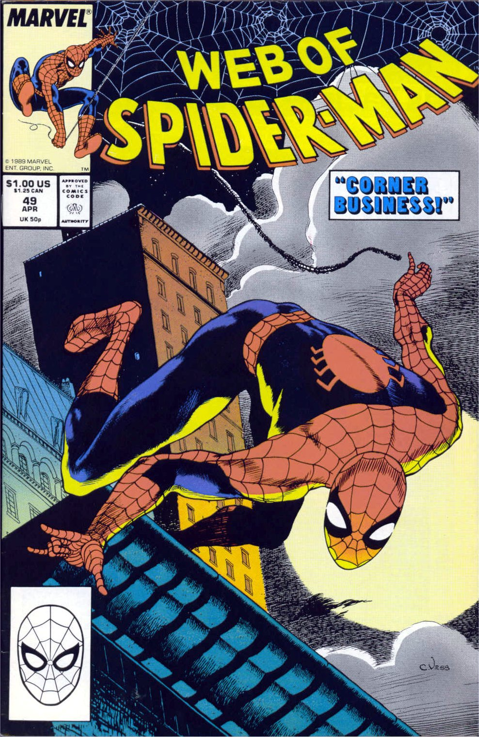 Web of Spider-Man (1985) 49 Page 1