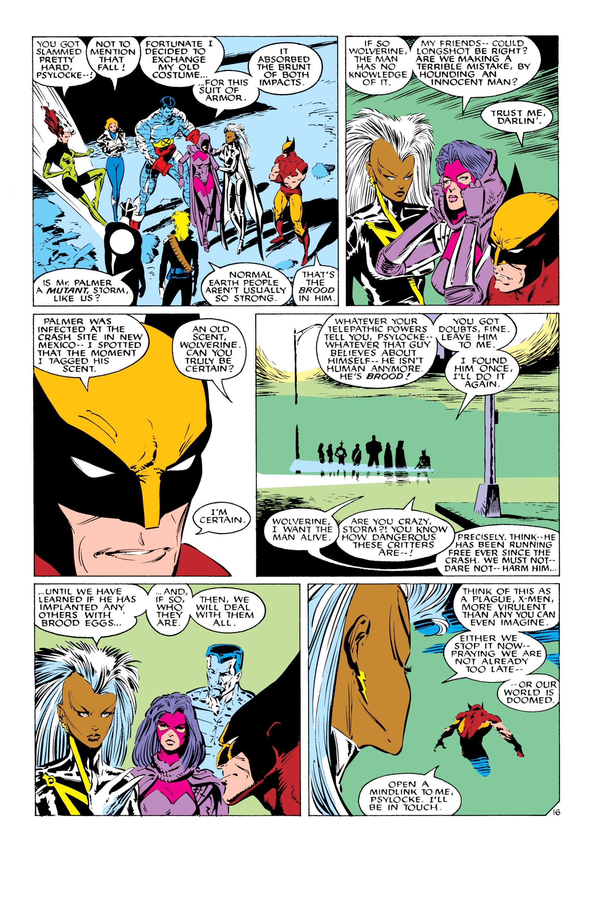 Read online Uncanny X-Men (1963) comic -  Issue #232 - 17