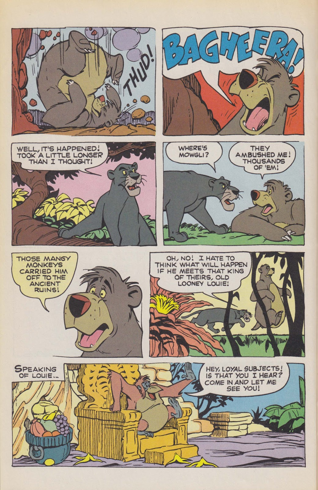 Read online The Jungle Book comic -  Issue # Full - 28