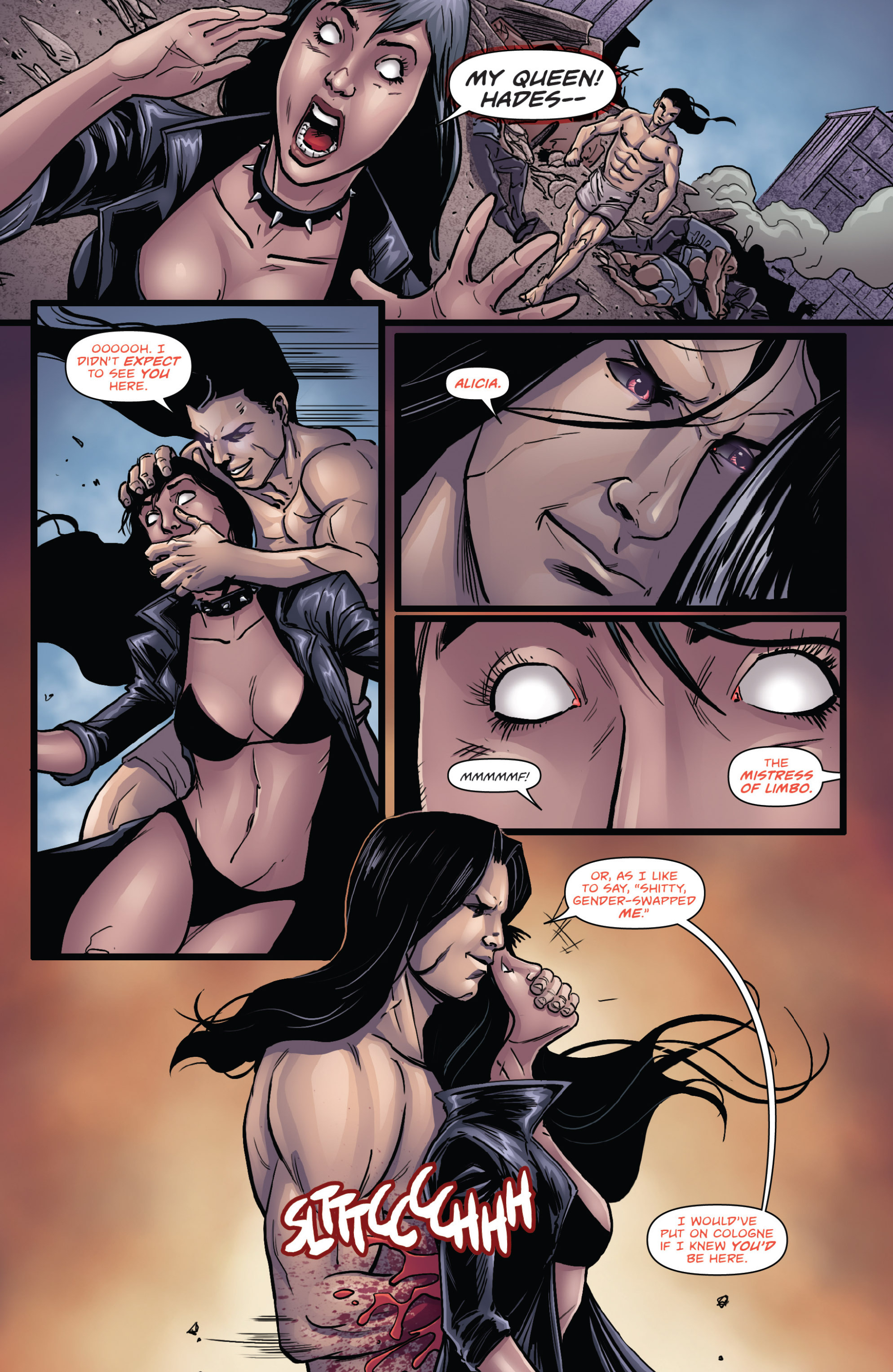 Read online Grimm Fairy Tales presents Cinderella: Age of Darkness comic -  Issue #2 - 10
