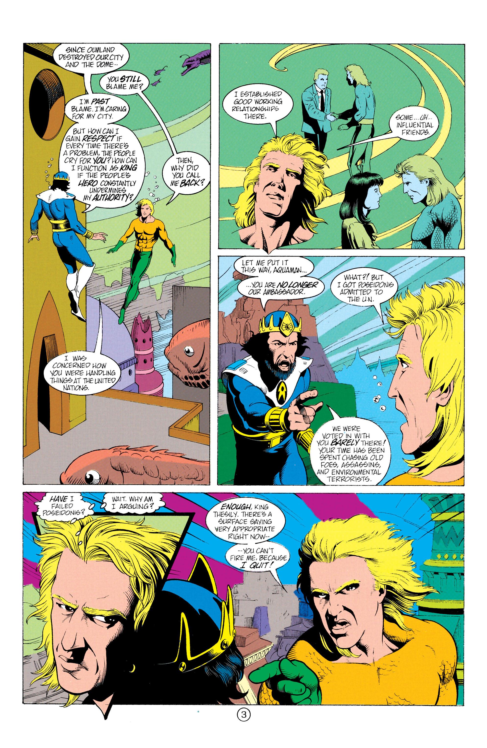 Read online Aquaman (1991) comic -  Issue #12 - 4
