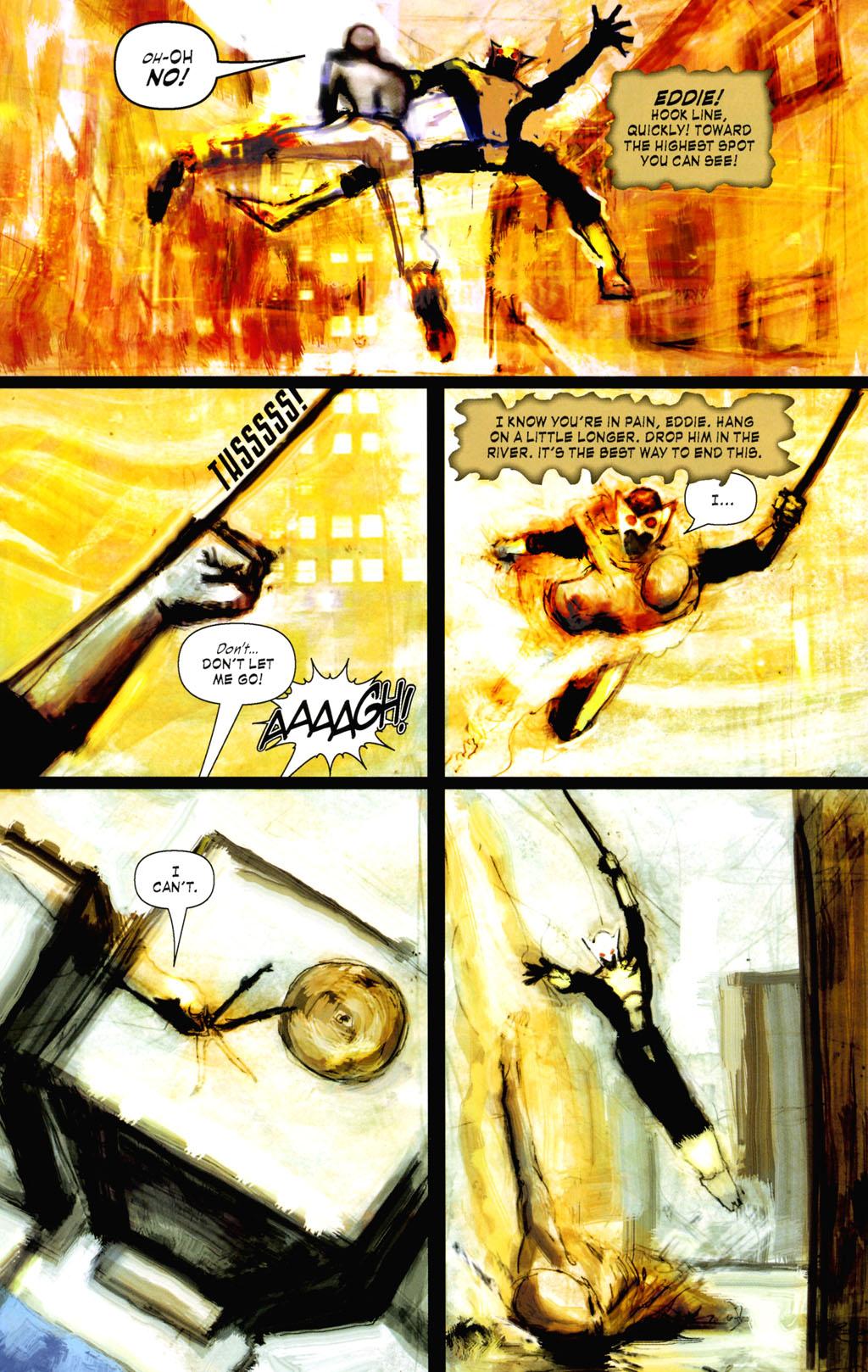 Read online ShadowHawk (2005) comic -  Issue #8 - 18