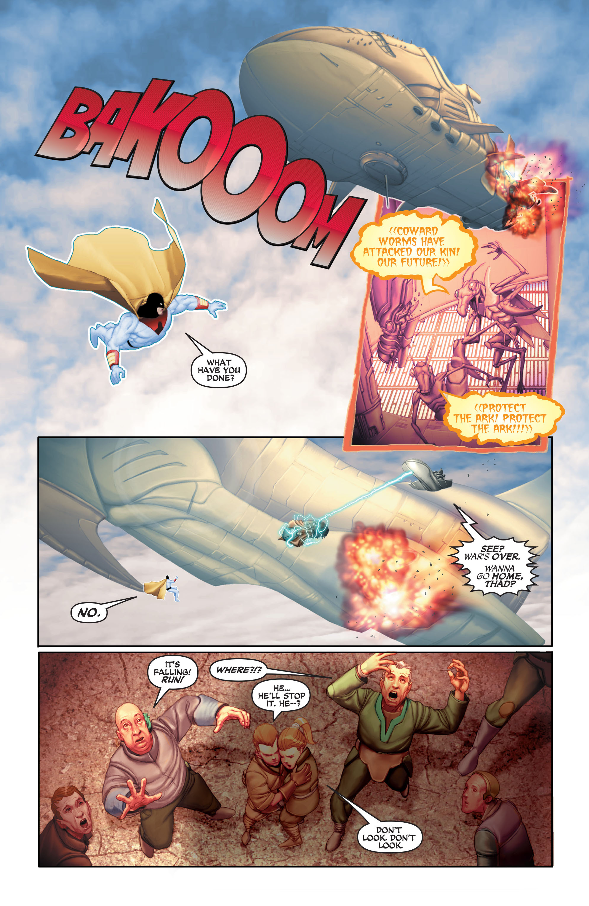 Read online Space Ghost (2016) comic -  Issue # Full - 124