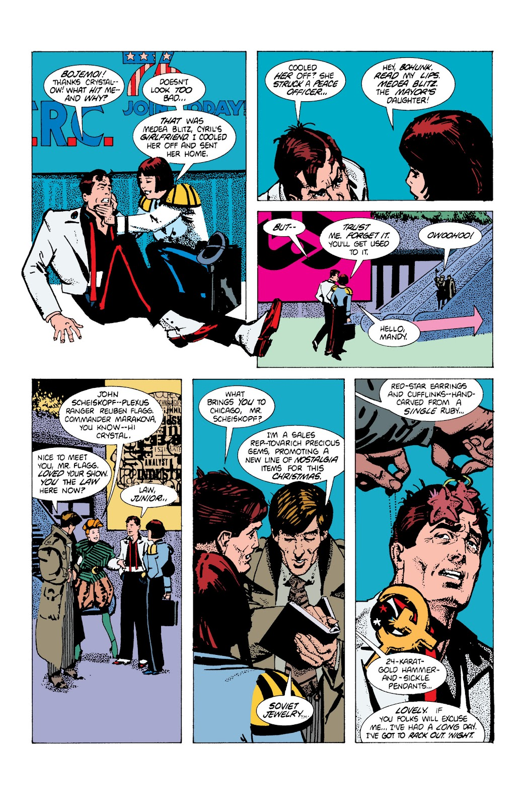 American Flagg! issue Definitive Collection (Part 1) - Page 71