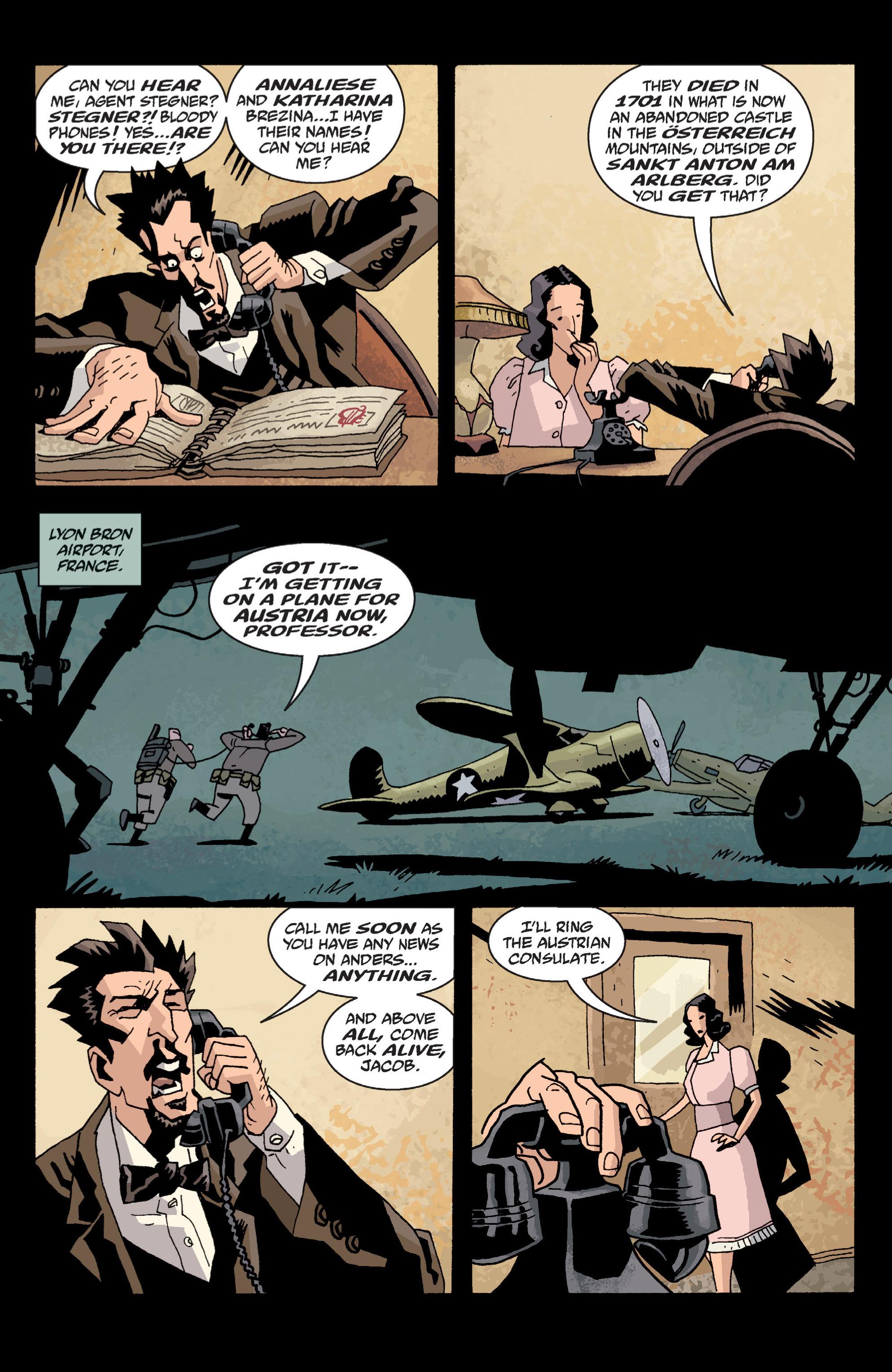 Read online B.P.R.D. (2003) comic -  Issue # TPB 13 - 93