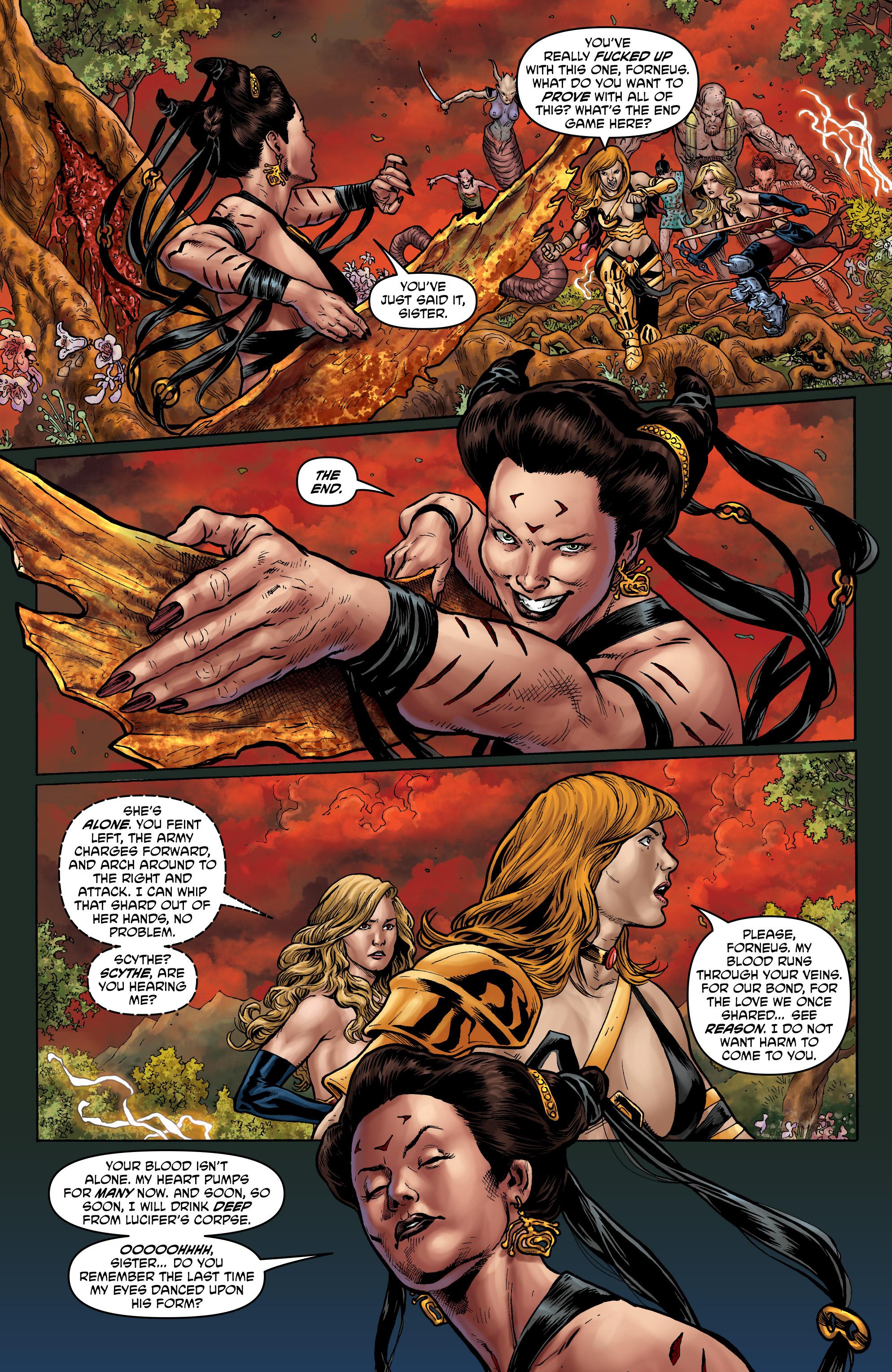 Read online Hellina: Scythe comic -  Issue #4 - 5
