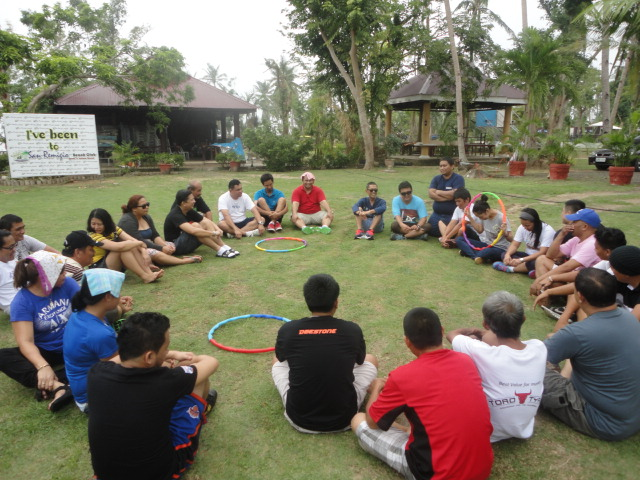 Treadtel Tires team building event in San Remigio Cebu Philippines 2014
