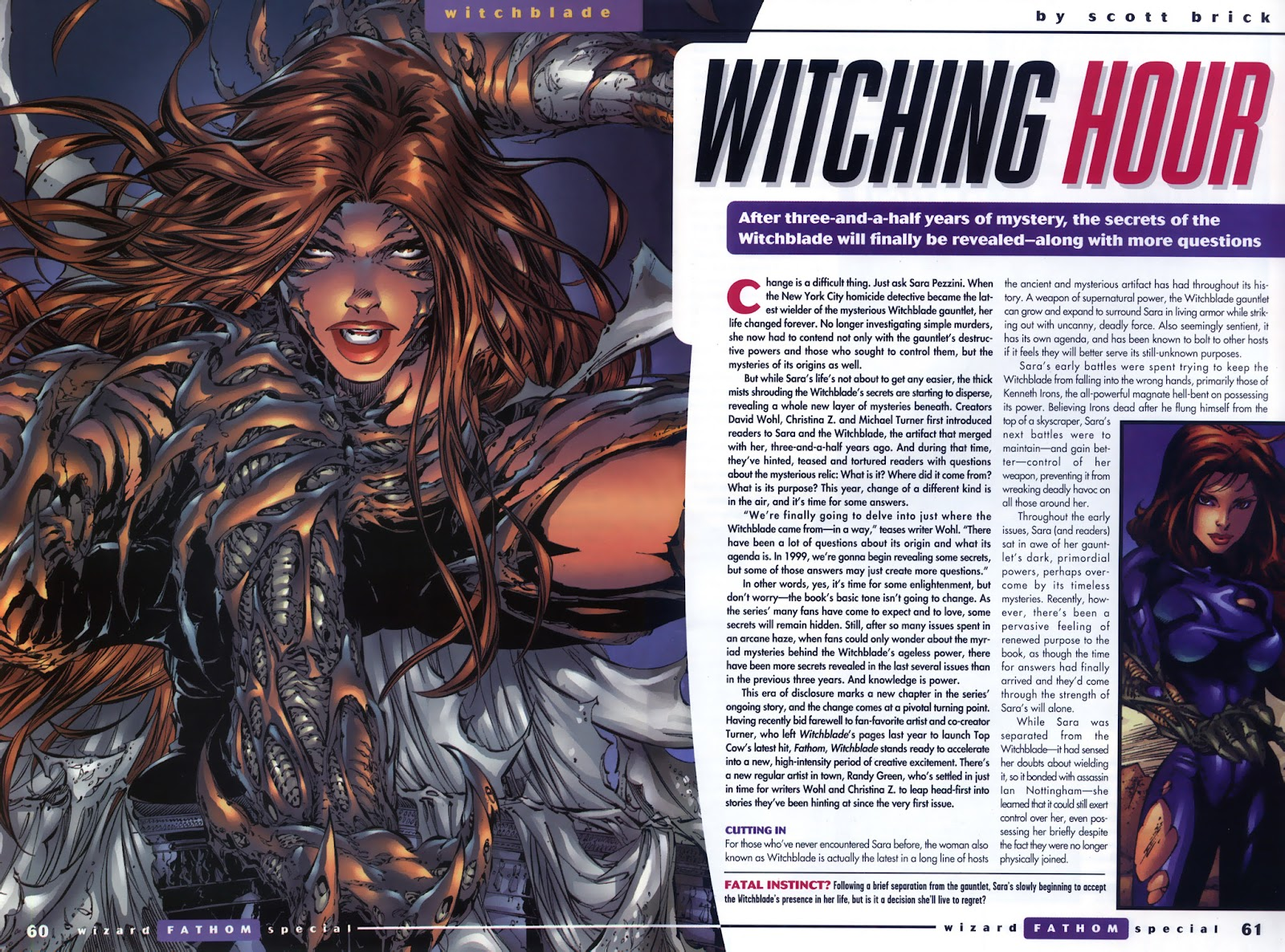 Read online Fathom Special comic -  Issue # Full - 45