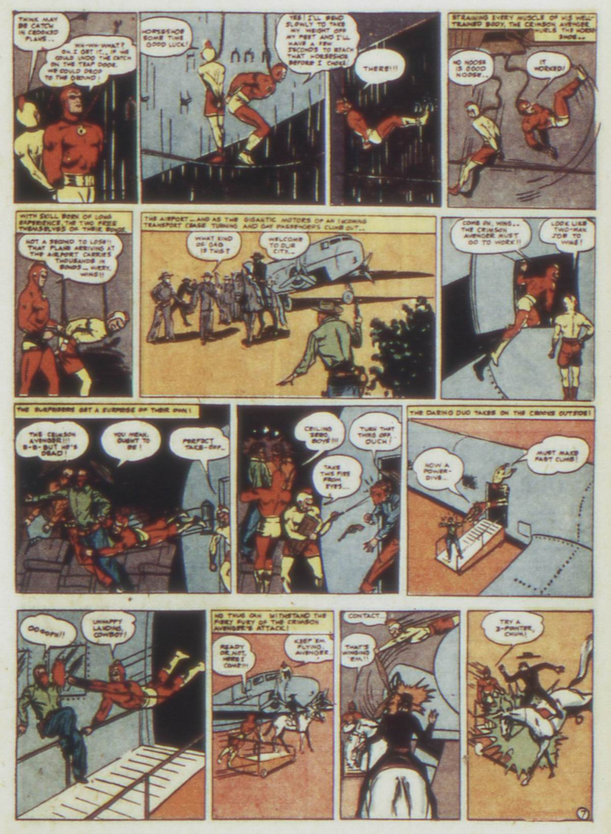Read online Detective Comics (1937) comic -  Issue #77 - 31