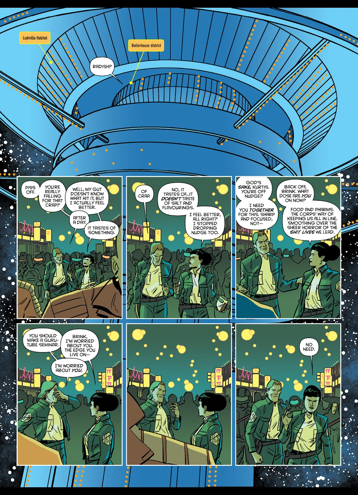 Read online Brink comic -  Issue # TPB 1 - 32