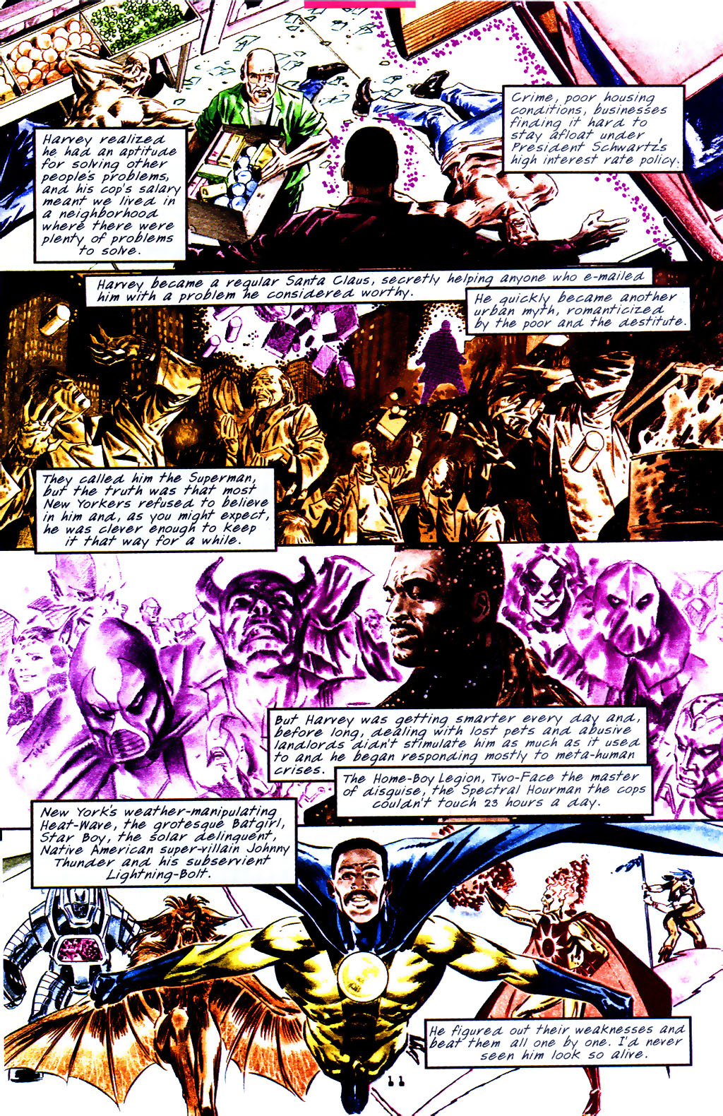 Read online Tangent Comics/ The Superman comic -  Issue # Full - 12