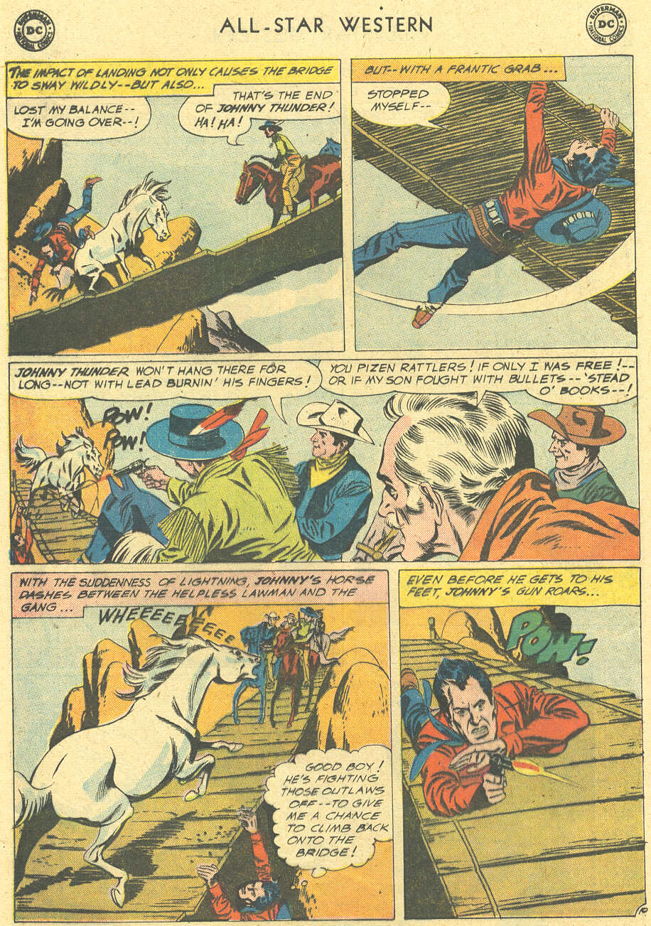 Read online All-Star Western (1951) comic -  Issue #113 - 12