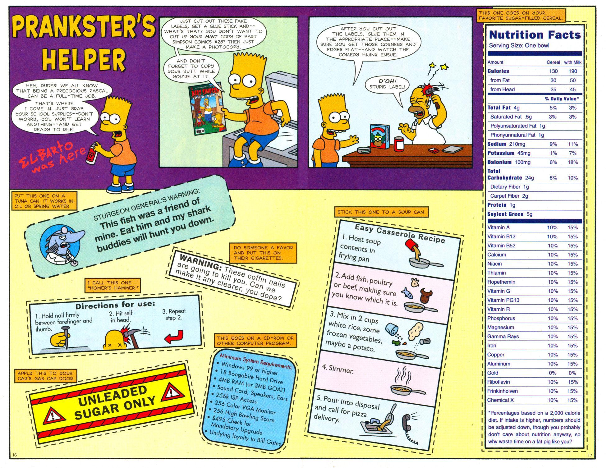 Read online Simpsons Comics Presents Bart Simpson comic -  Issue #28 - 14
