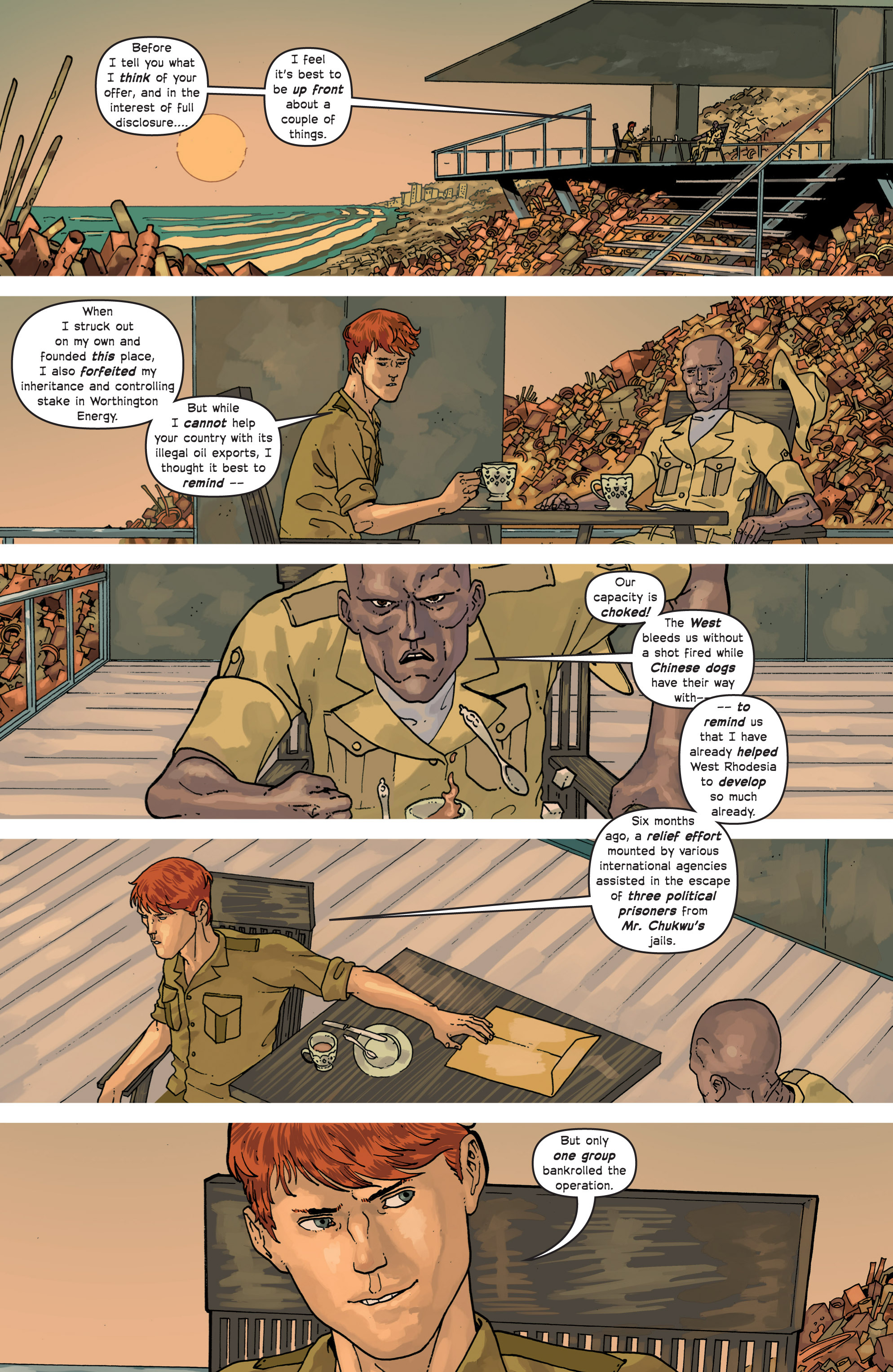 Read online Great Pacific comic -  Issue #9 - 23