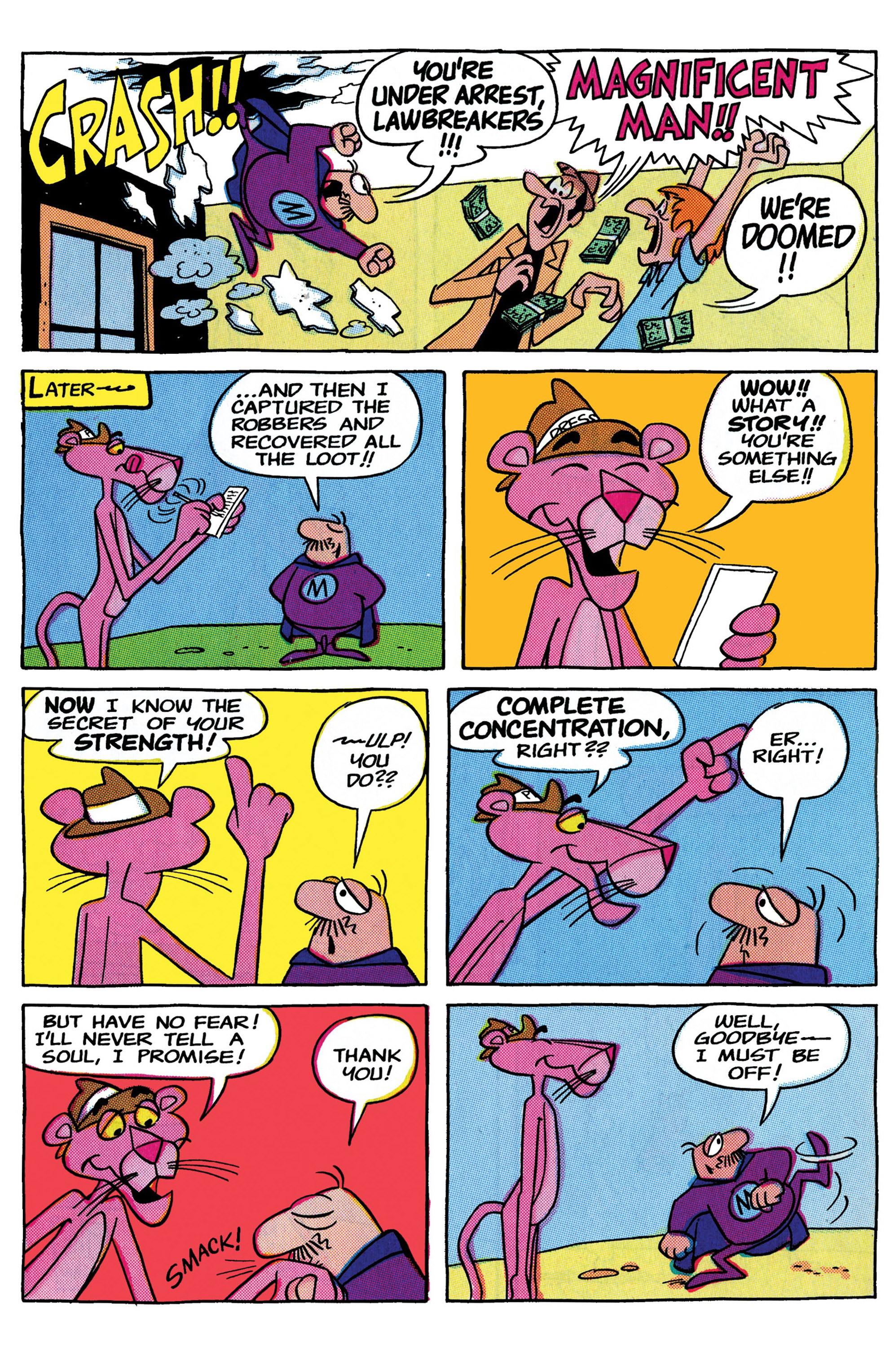 Read online Pink Panther Super-Pink Special comic -  Issue # Full - 26