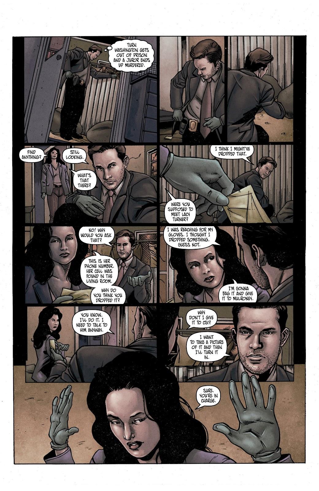 Read online Vindication comic -  Issue #1 - 17