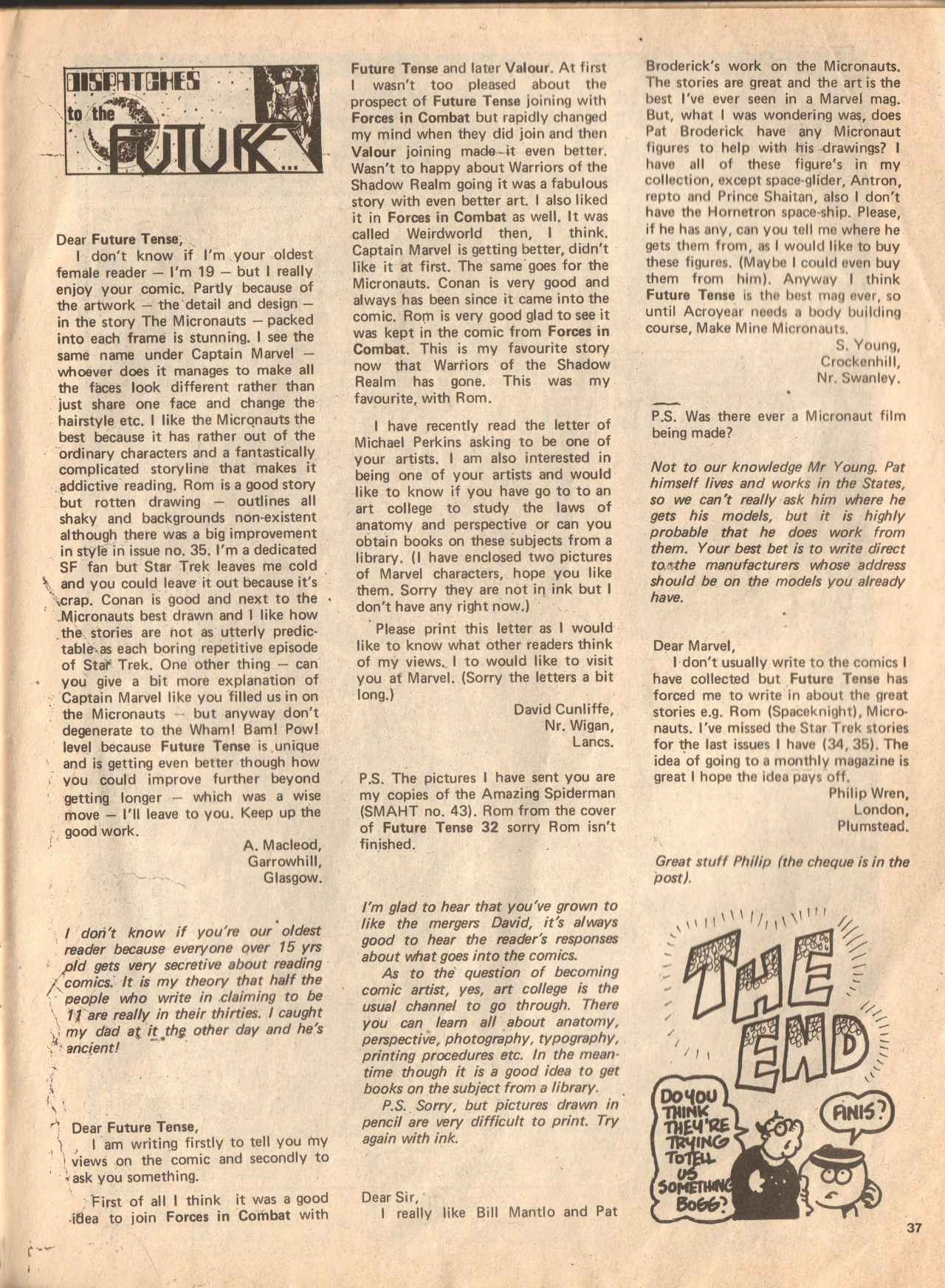 Read online Future Tense comic -  Issue #38 - 37