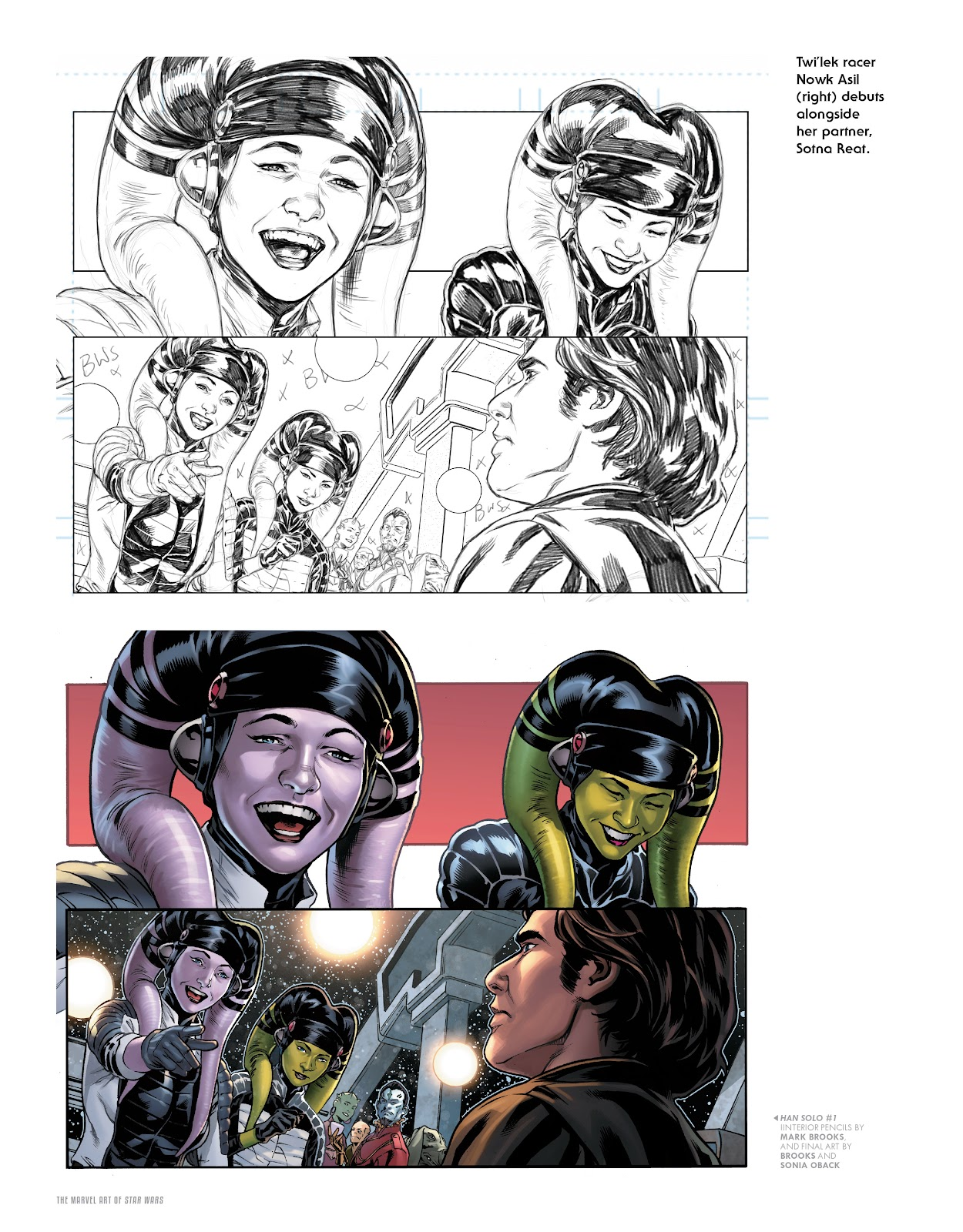 Read online The Marvel Art of Star Wars comic -  Issue # TPB (Part 2) - 39
