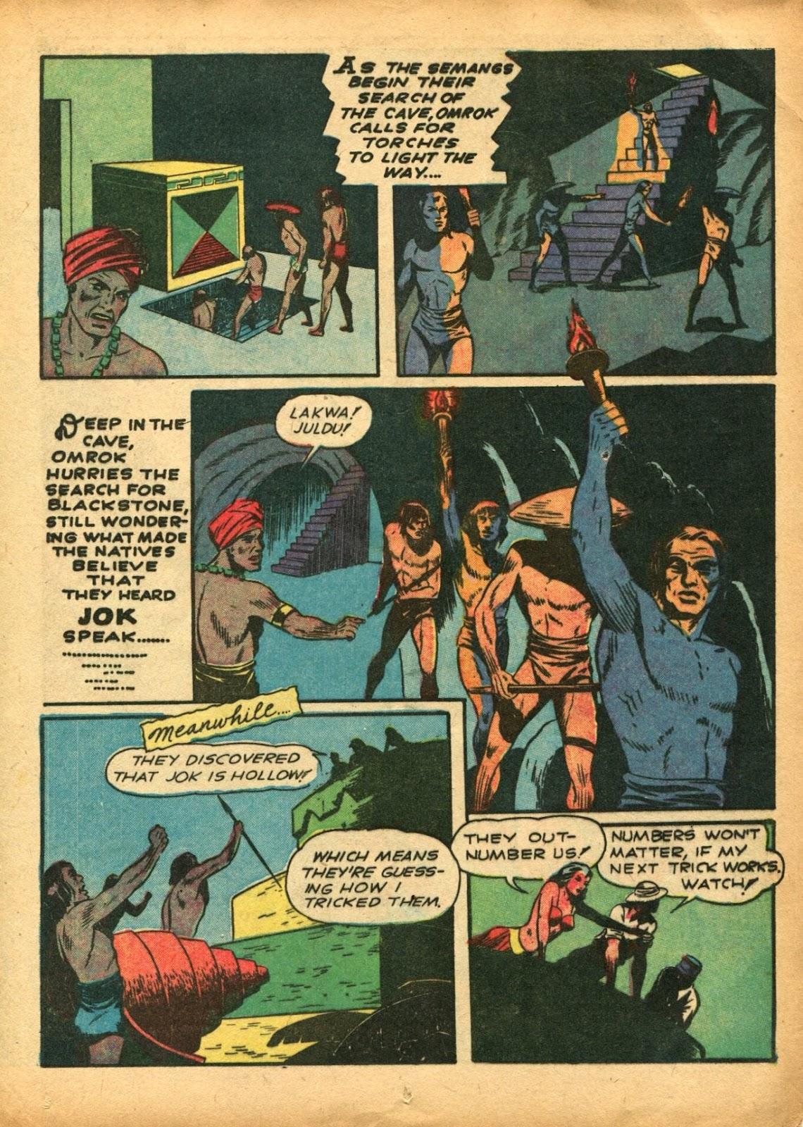 Read online Super-Magician Comics comic -  Issue #5 - 33